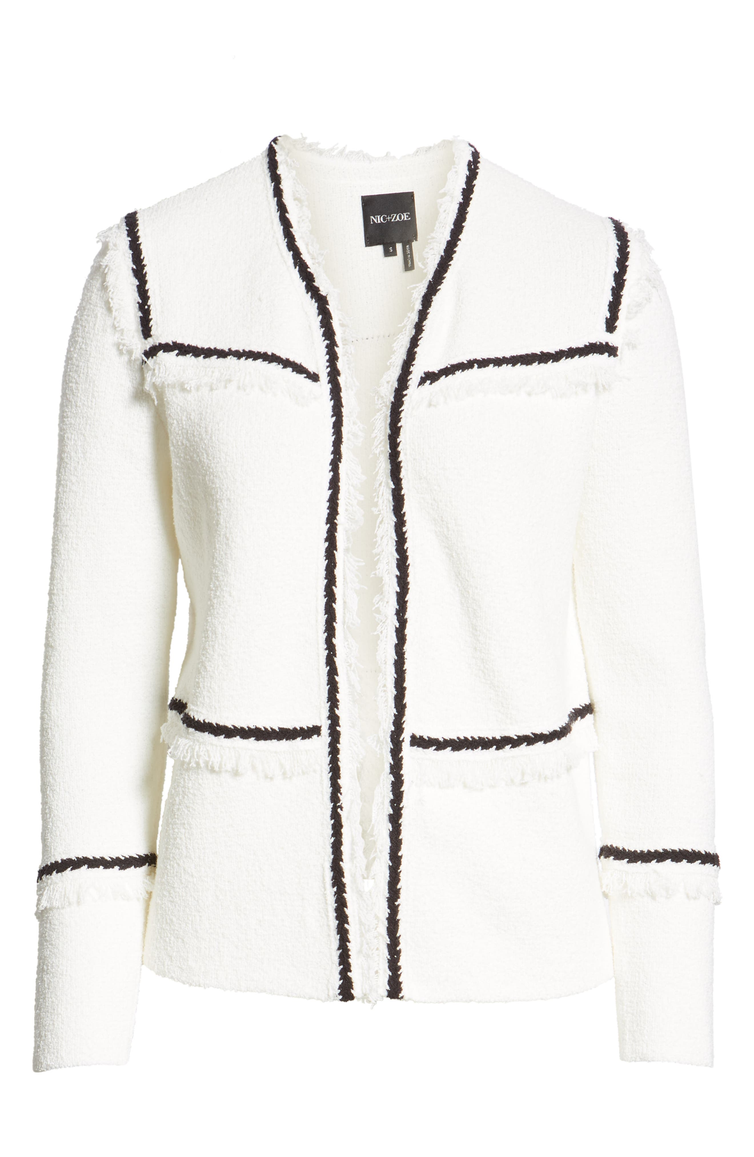 First Class Jacket,                             Alternate thumbnail 6, color,                             PAPER WHITE