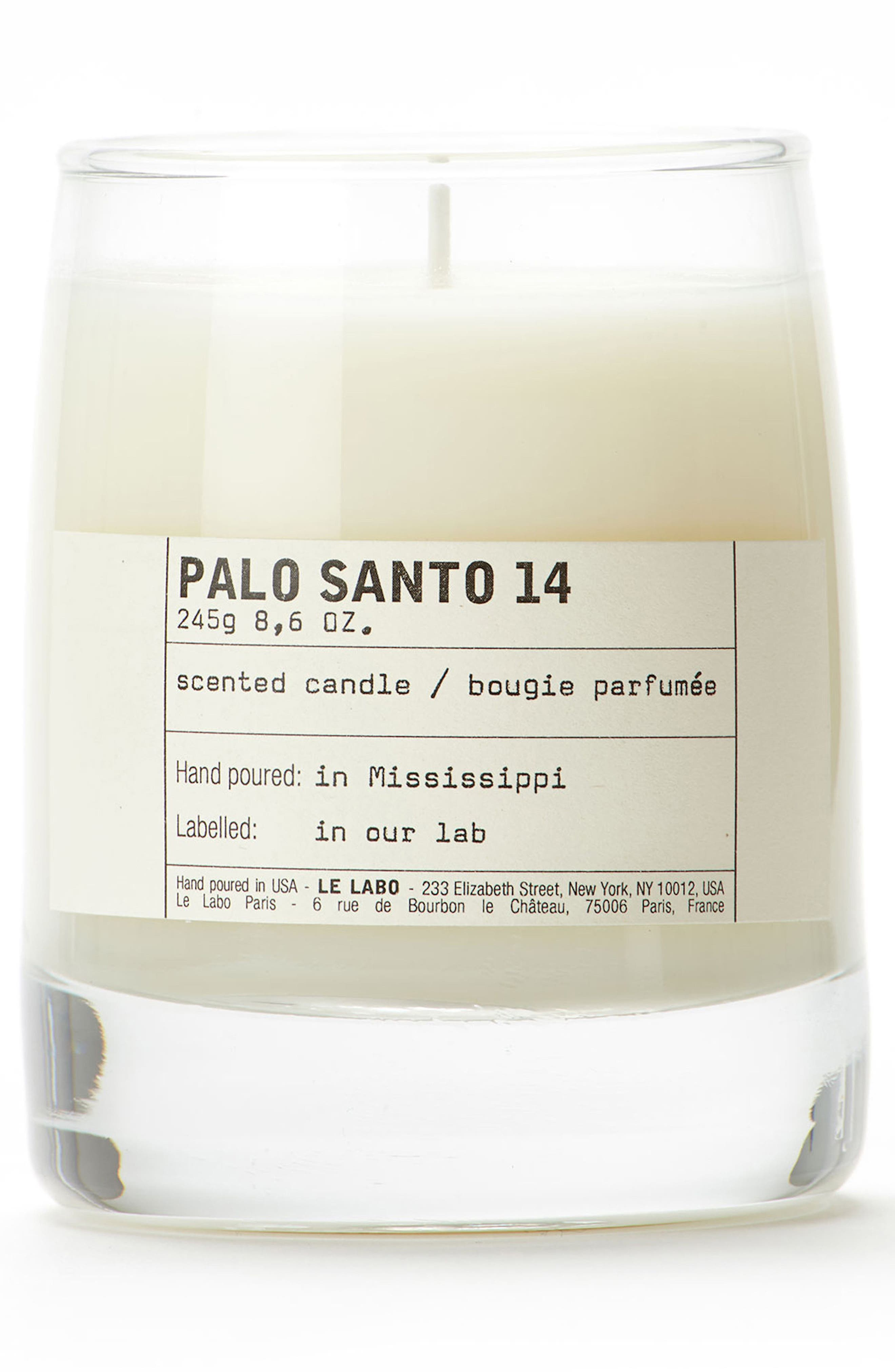 Palo Santo 14 Classic Candle,                             Main thumbnail 1, color,                             NO COLOR