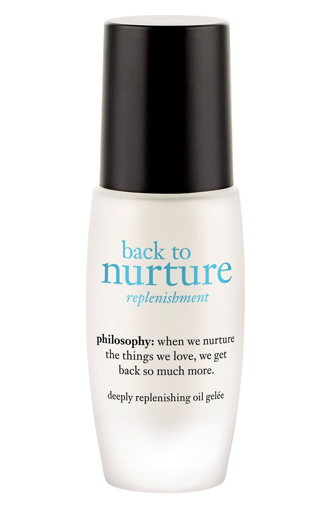 'back to nurture' deeply replenishing oil gelée,                             Main thumbnail 1, color,                             000