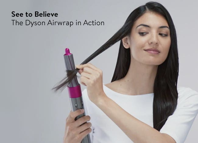 See to believe: the Dyson Airwrap in action.