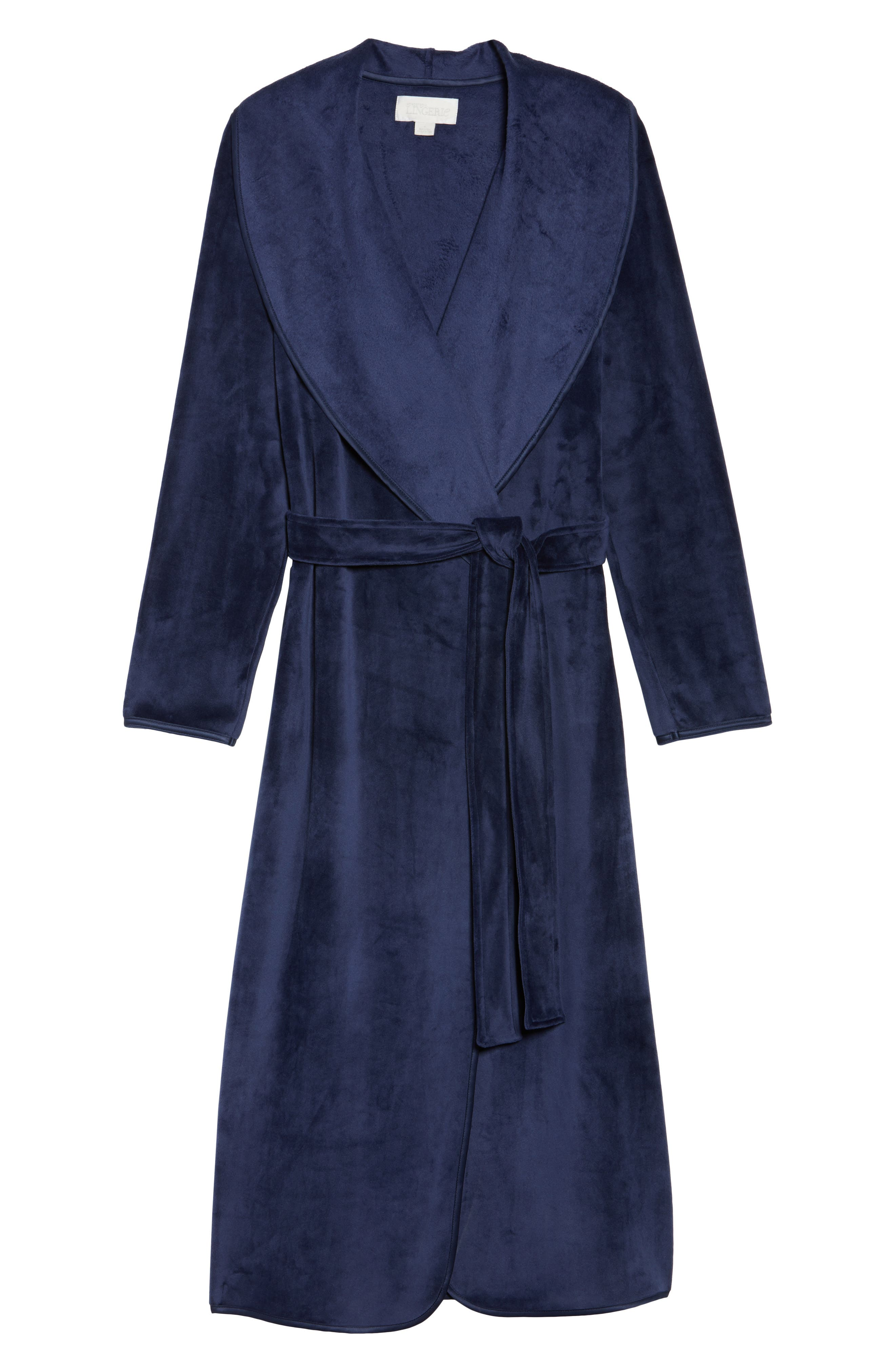 Luxe Shawl Robe,                             Alternate thumbnail 17, color,