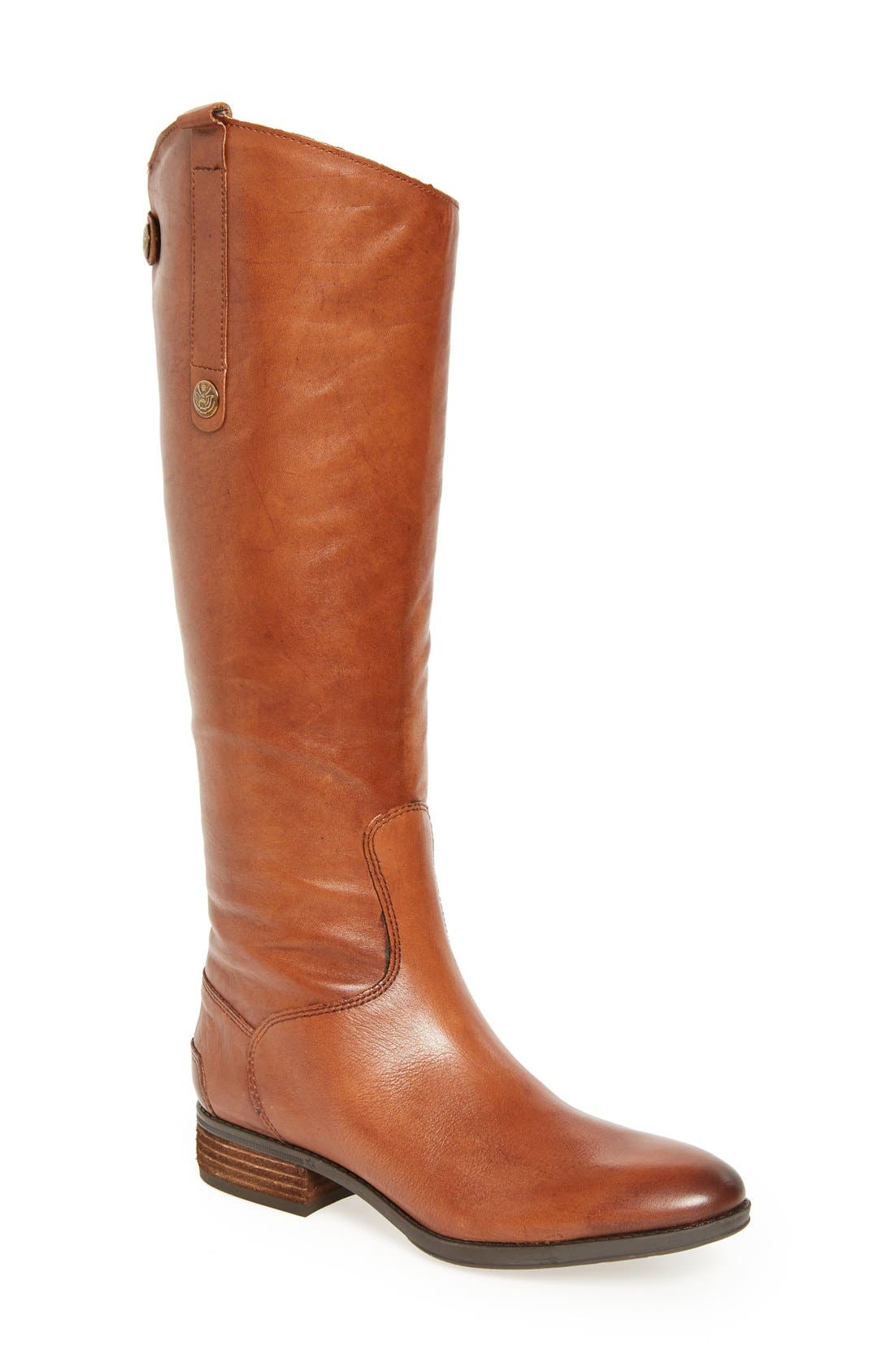 Sam Edelman Penny Boot Regular Calf- Brown