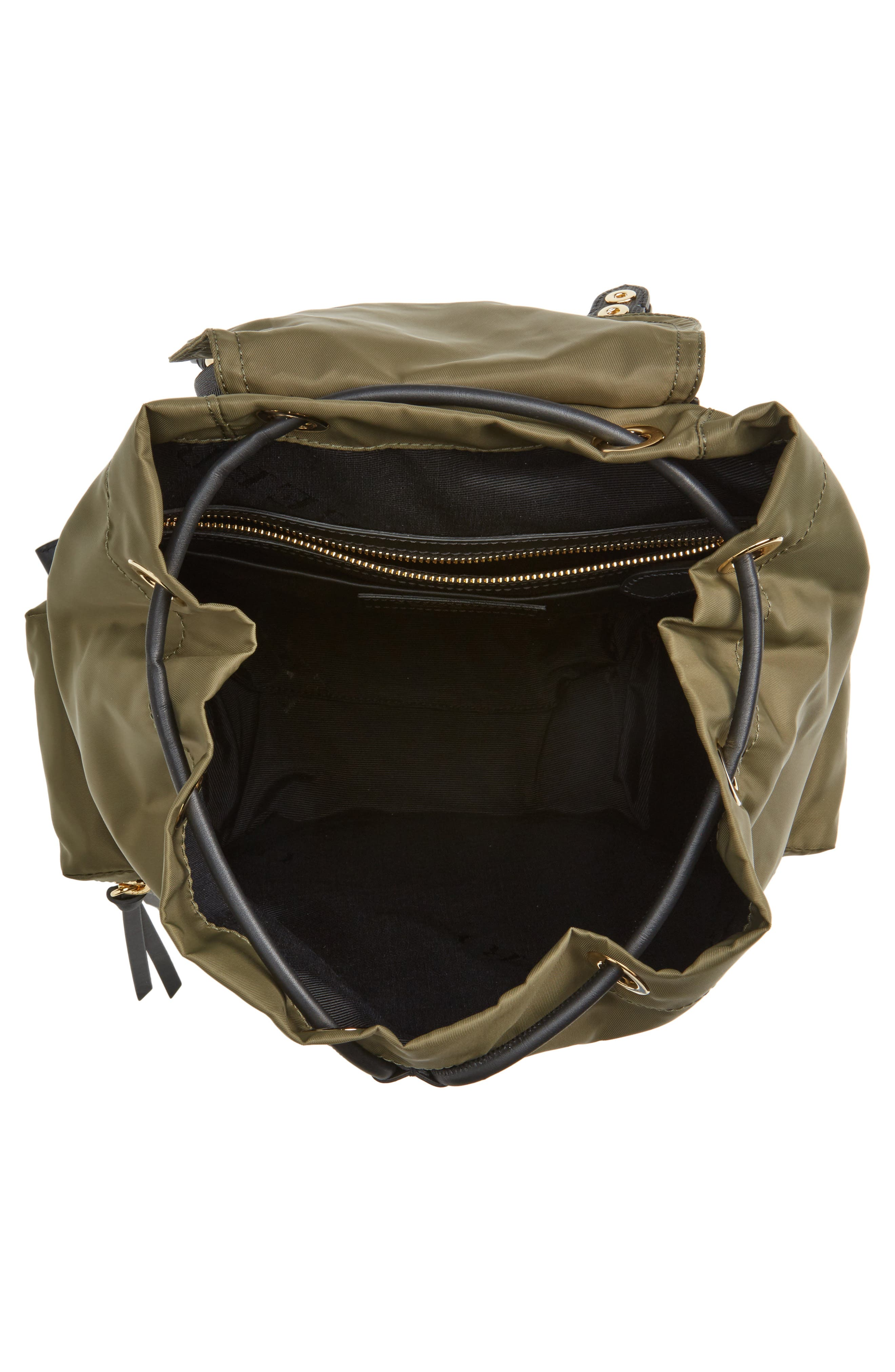 Medium Patches Rucksack Nylon Backpack,                             Alternate thumbnail 4, color,                             311