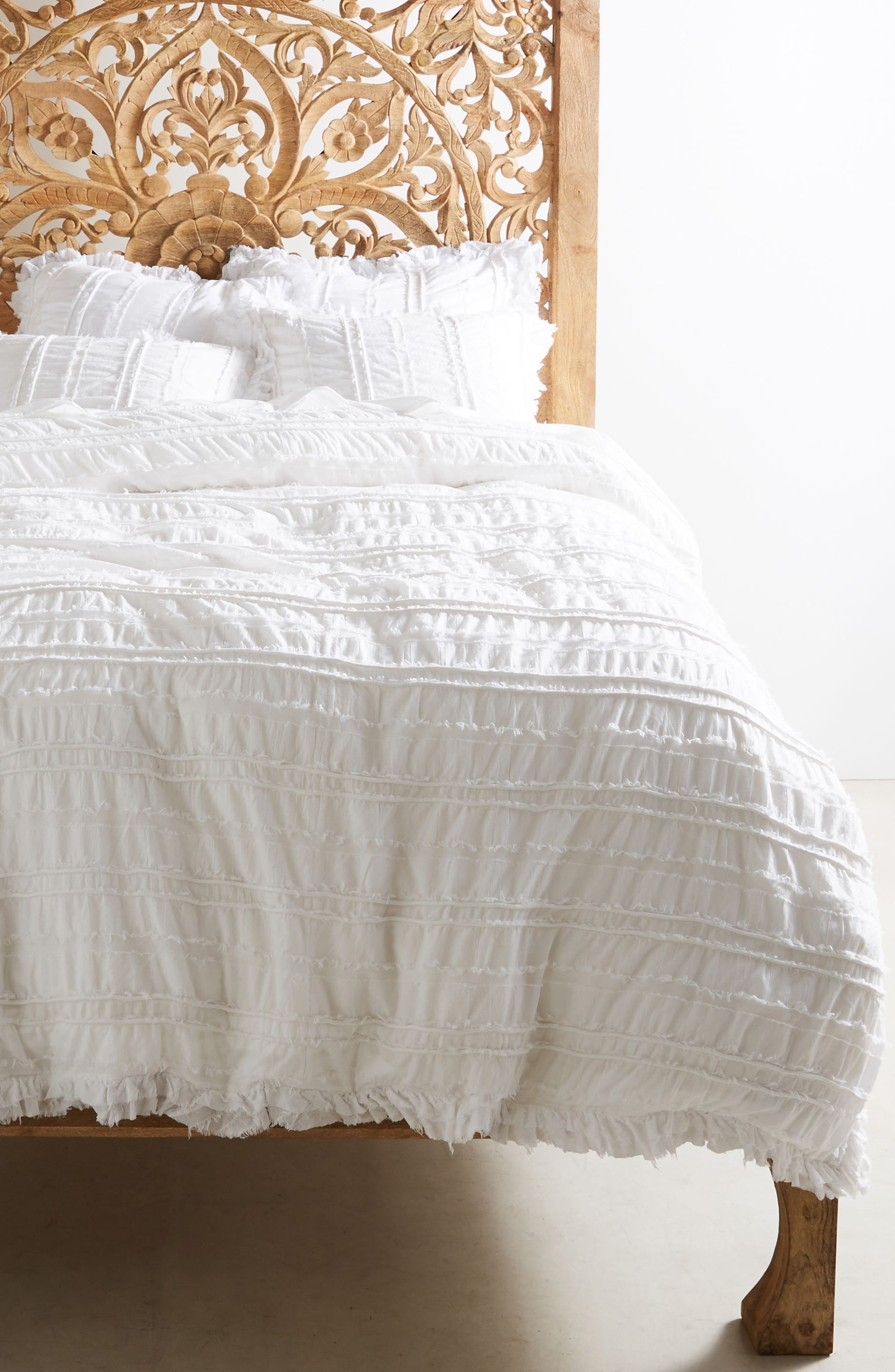 Corded Duvet Cover,                         Main,                         color, 100