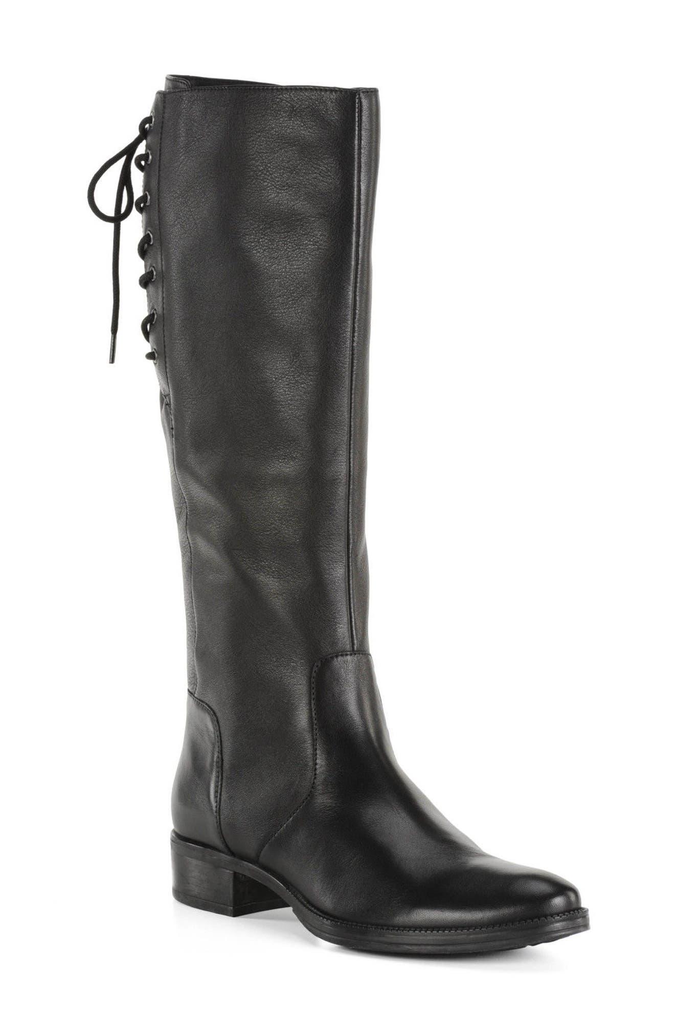 Mendi Tall Boot,                         Main,                         color, 001
