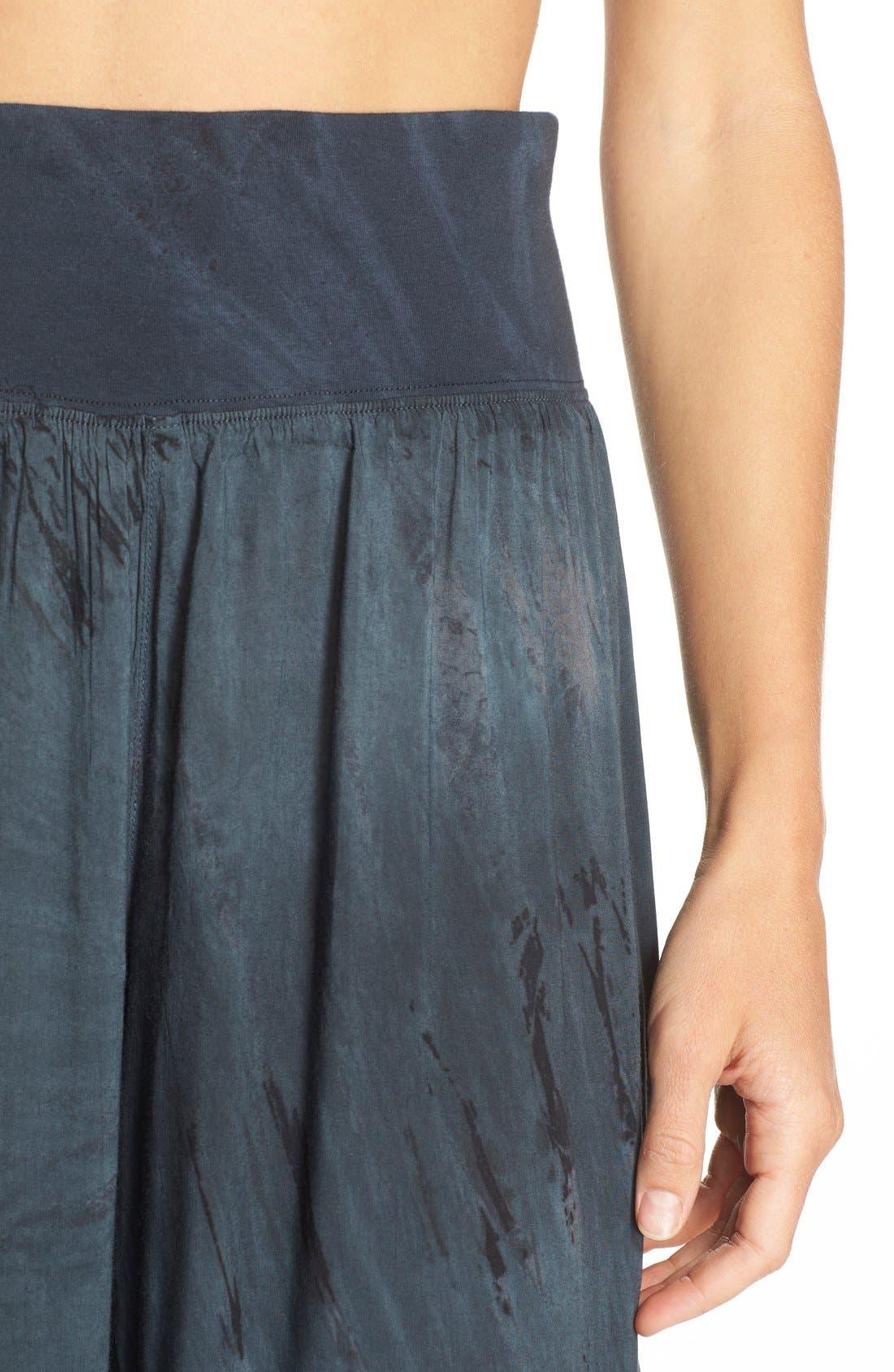 Tie Dye Wide Leg Pants,                             Alternate thumbnail 2, color,                             001