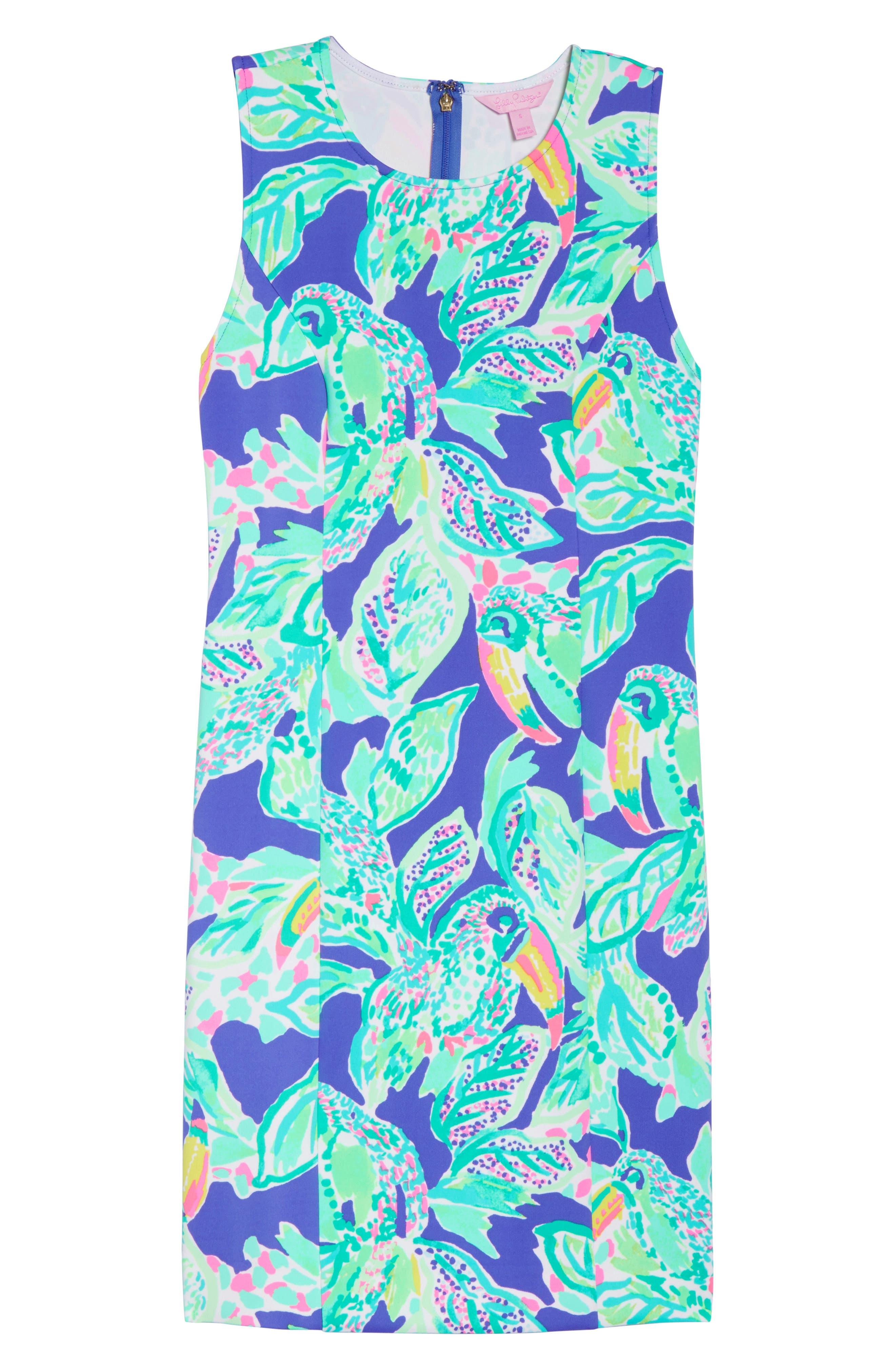 Mila Sheath Dress,                             Alternate thumbnail 7, color,                             400