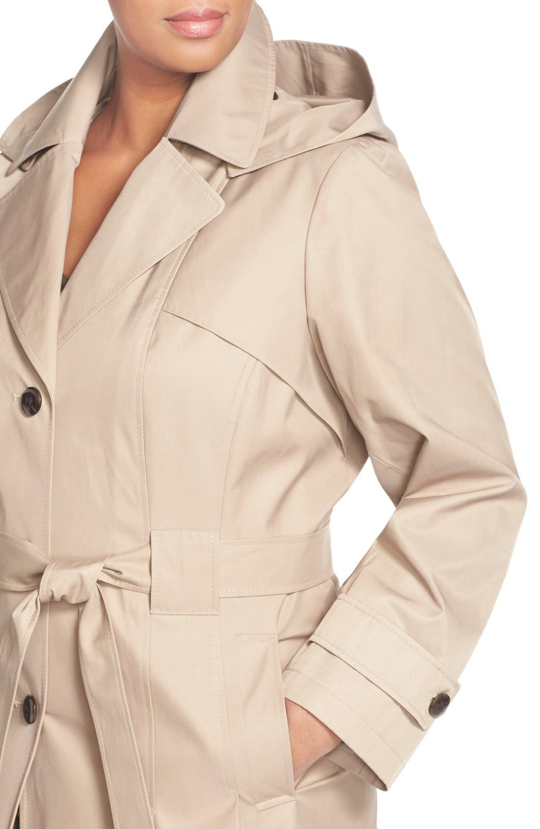 'Scarpa' Single Breasted Trench Coat,                             Alternate thumbnail 20, color,