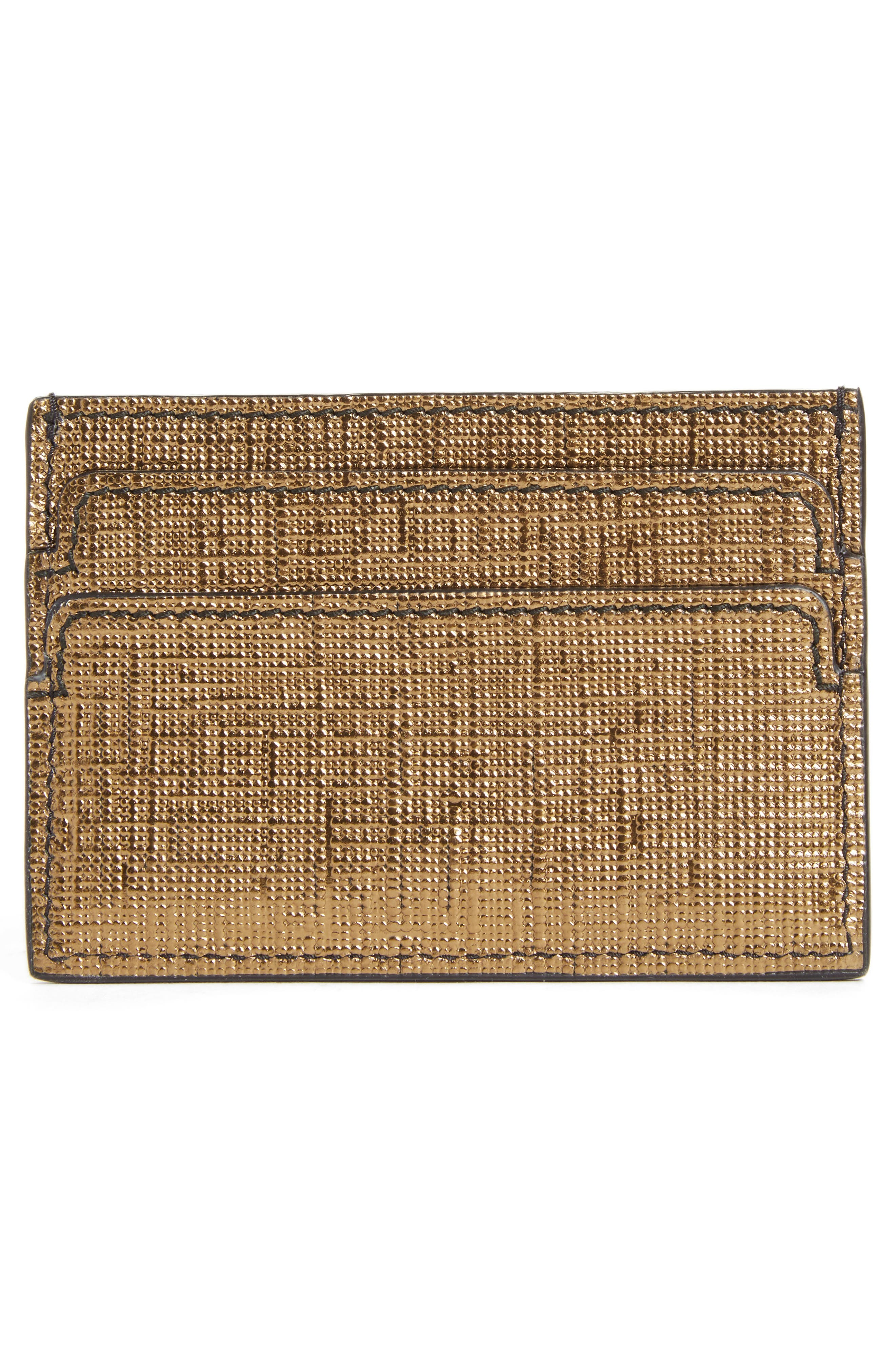 Textured Leather Card Case,                             Alternate thumbnail 2, color,                             712