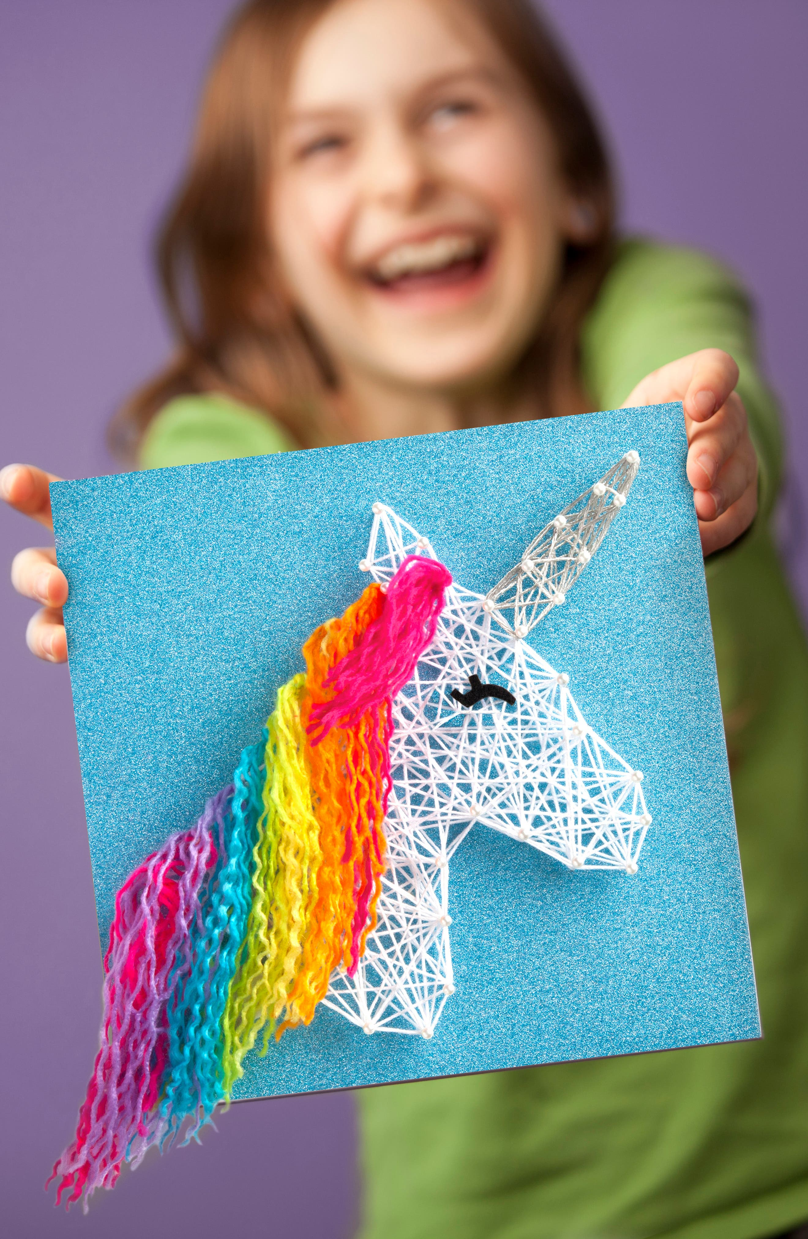 Unicorn String Art Kit,                             Alternate thumbnail 4, color,                             960