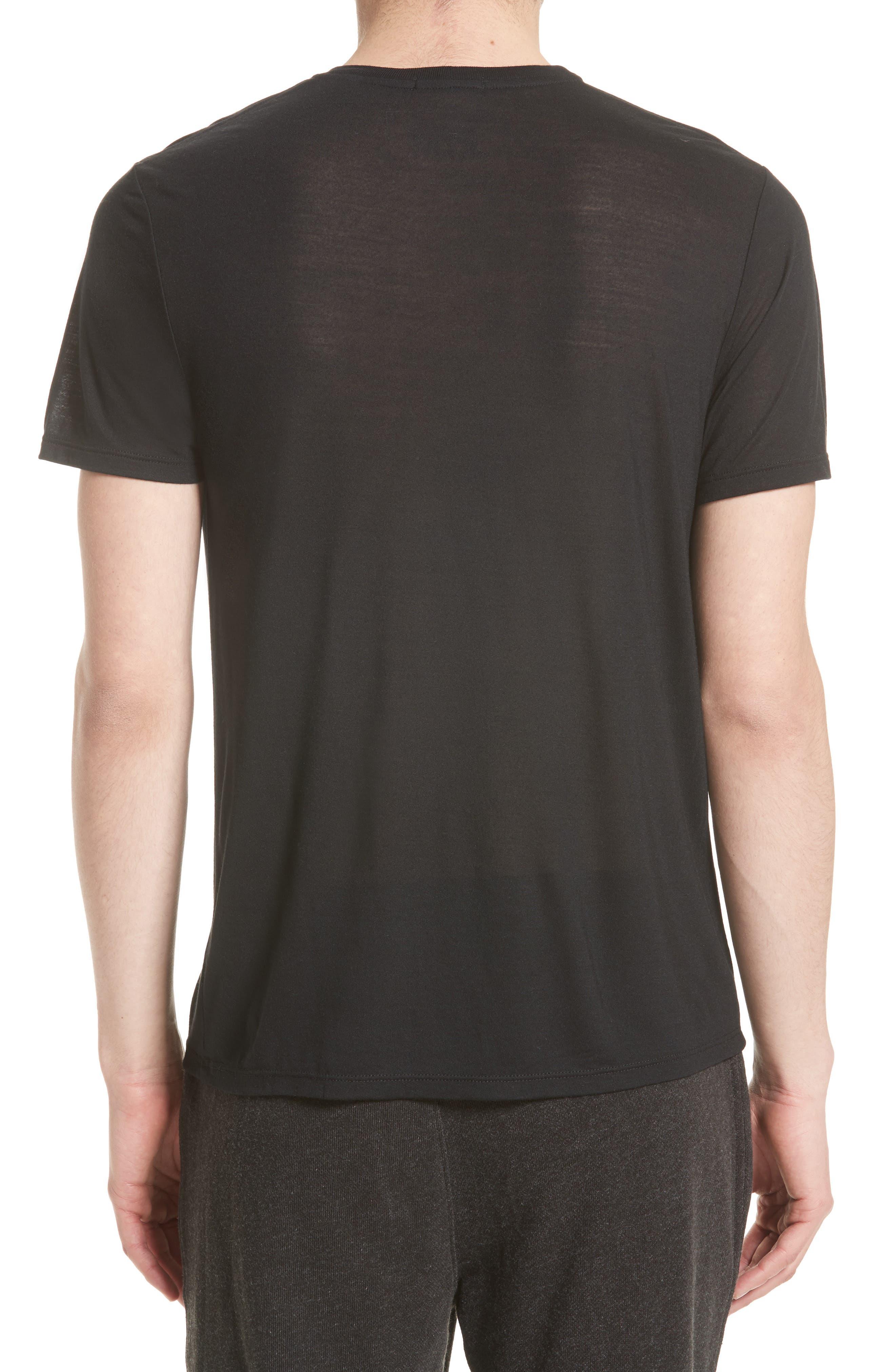 T-Shirt,                             Alternate thumbnail 2, color,                             BLACK