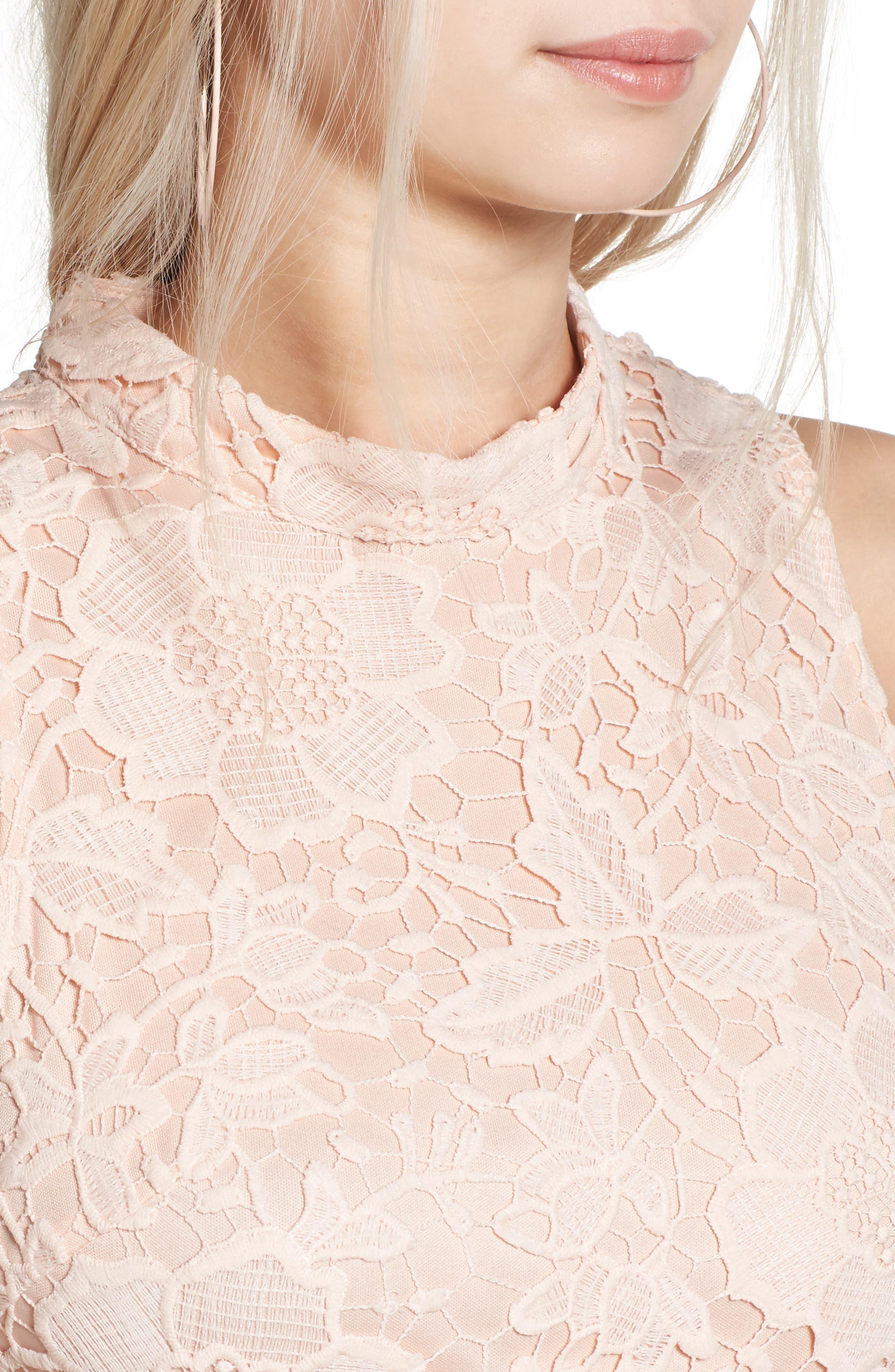 'Samantha' Lace Dress,                             Alternate thumbnail 28, color,