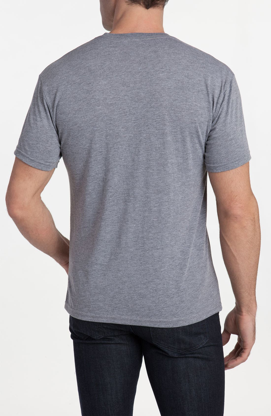 Topless 'ESPN<sup>®</sup> Logo' Crewneck T-Shirt,                             Alternate thumbnail 2, color,                             080