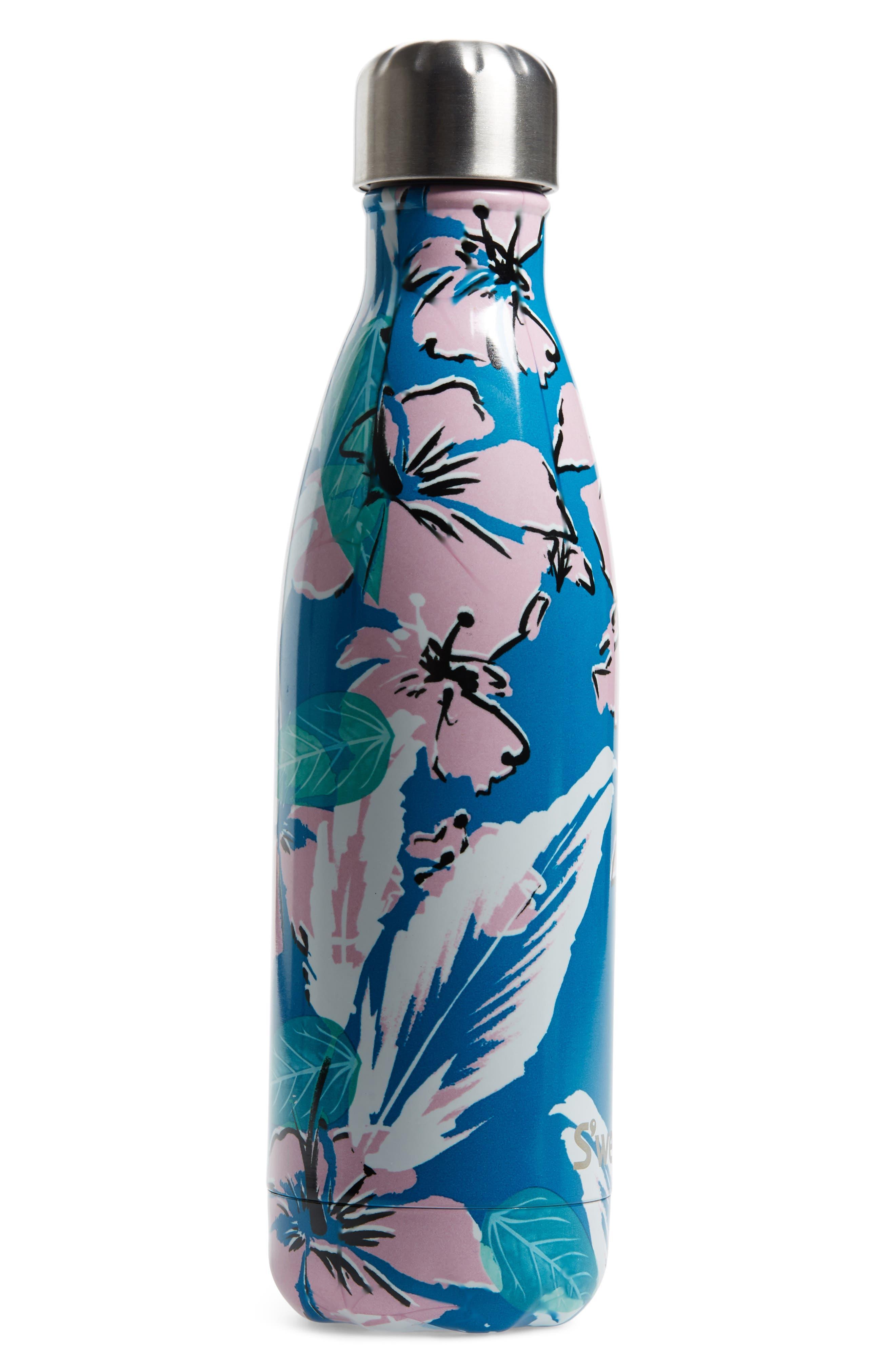 Waimea Bay 17-Ounce Stainless Steel Water Bottle, Main, color, WAIMEA BAY