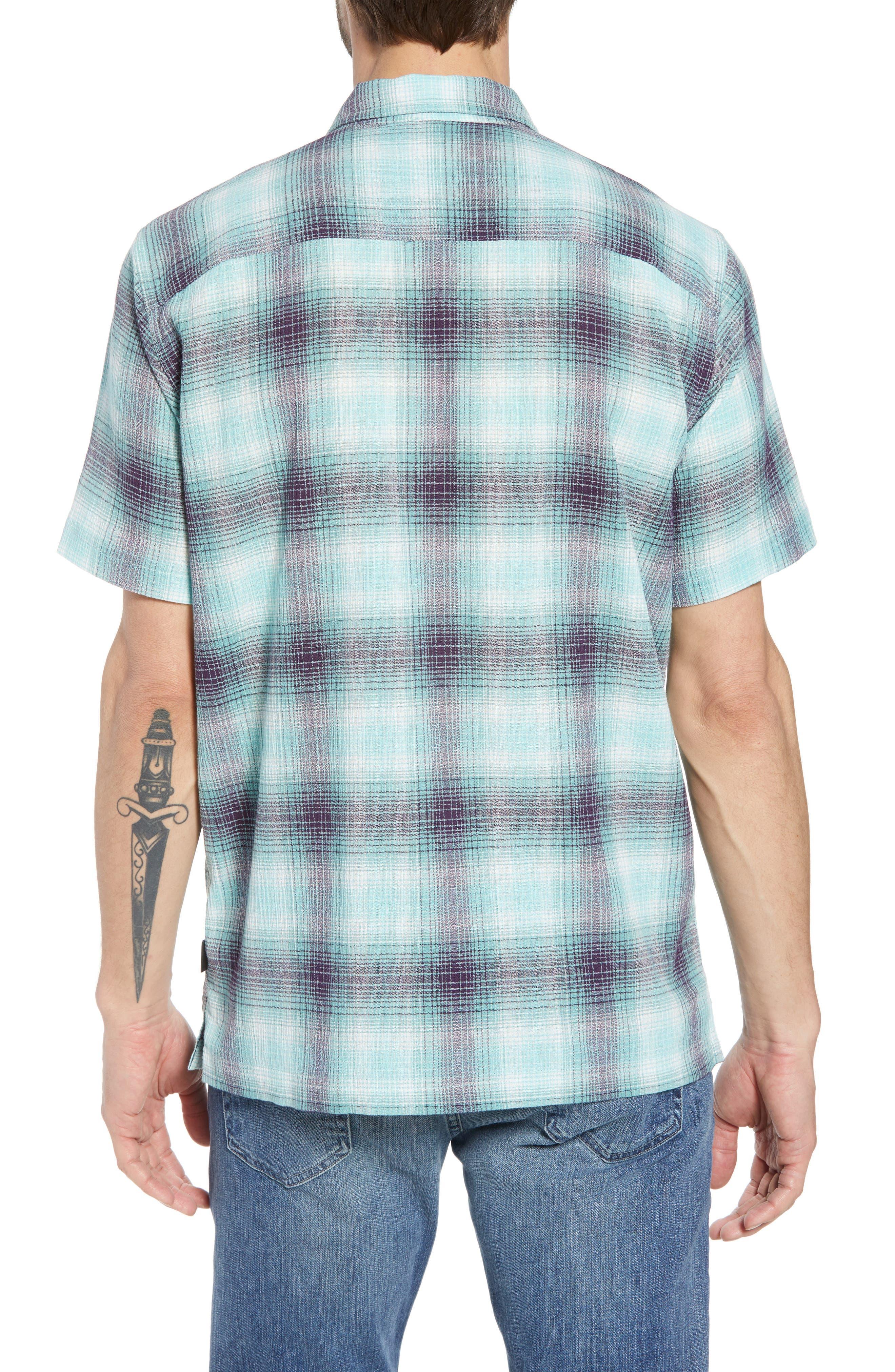 'A/C<sup>®</sup>' Regular Fit Organic Cotton Short Sleeve Sport Shirt,                             Alternate thumbnail 2, color,                             COSTA/ BERYL GREEN