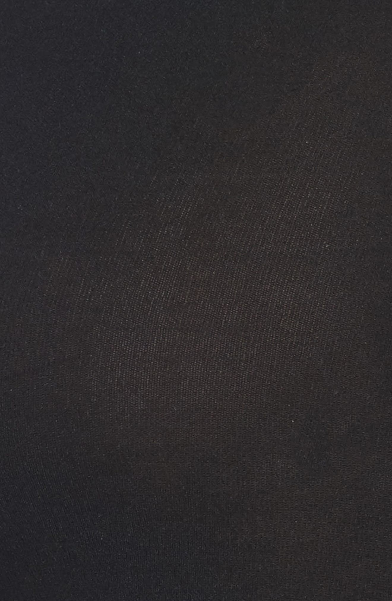 SPANX Arm Tights<sup>™</sup> Cable Layering Top,                             Alternate thumbnail 5, color,                             001