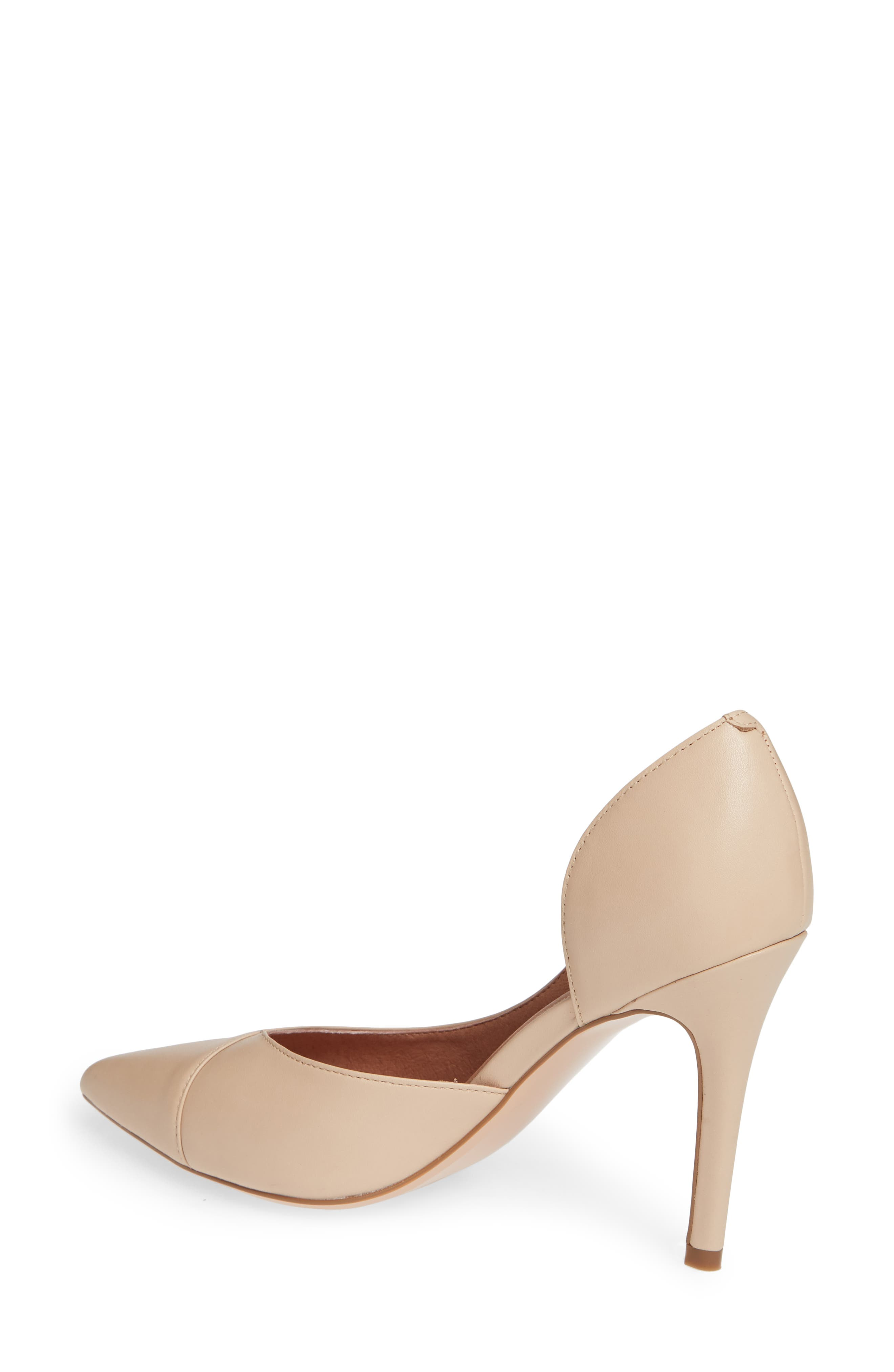 Autumn Pump,                             Alternate thumbnail 2, color,                             NUDE LEATHER