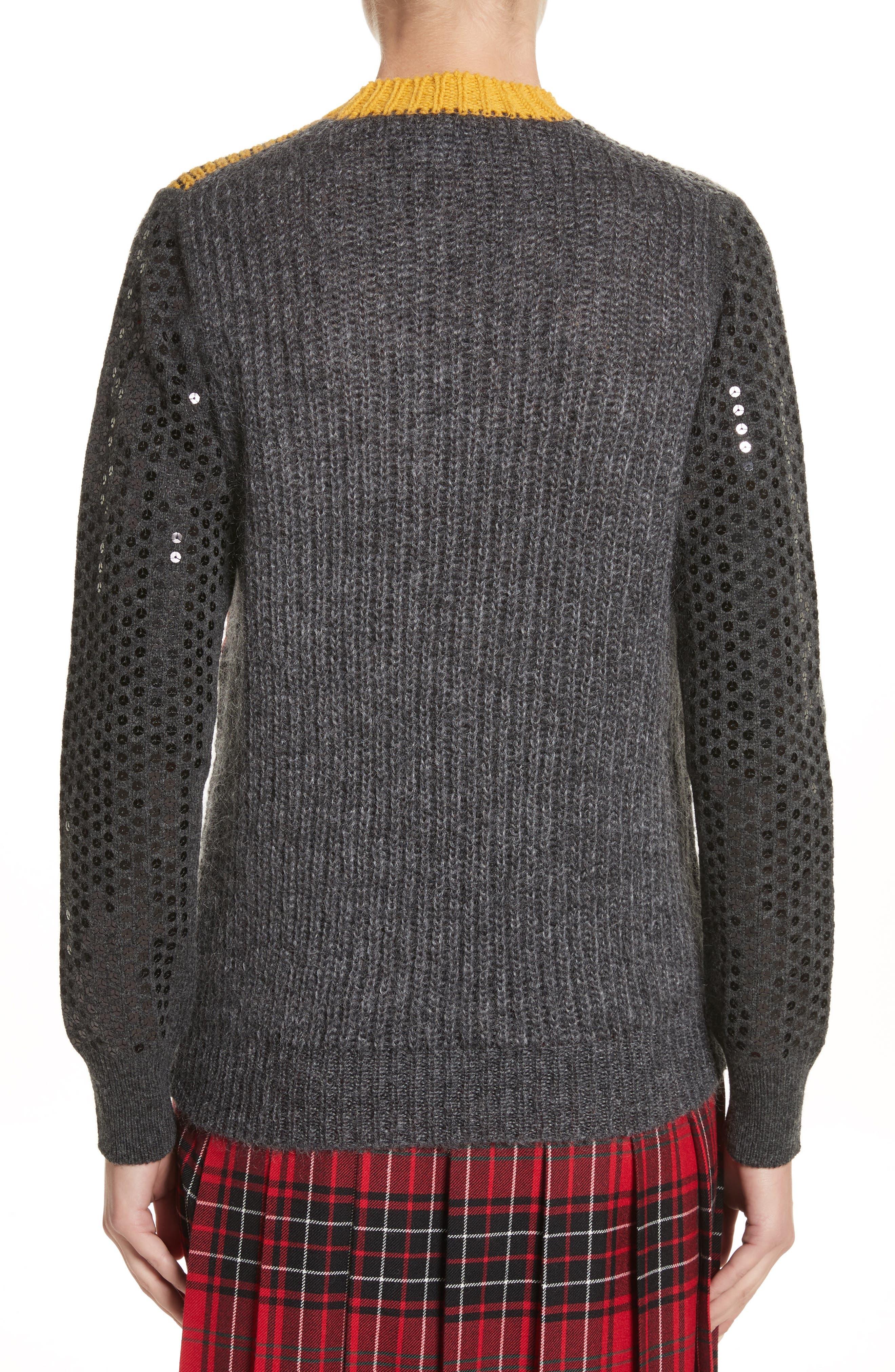 Mixed Media Sweater,                             Alternate thumbnail 2, color,                             060