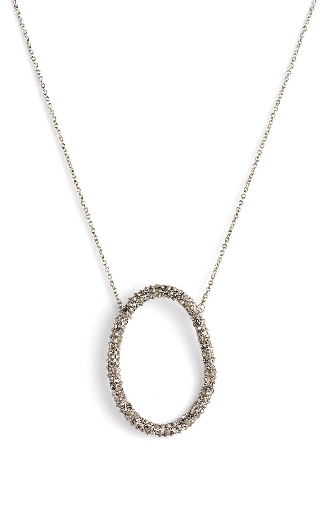 'Miss Havisham' Crystal Necklace,                             Main thumbnail 1, color,                             020