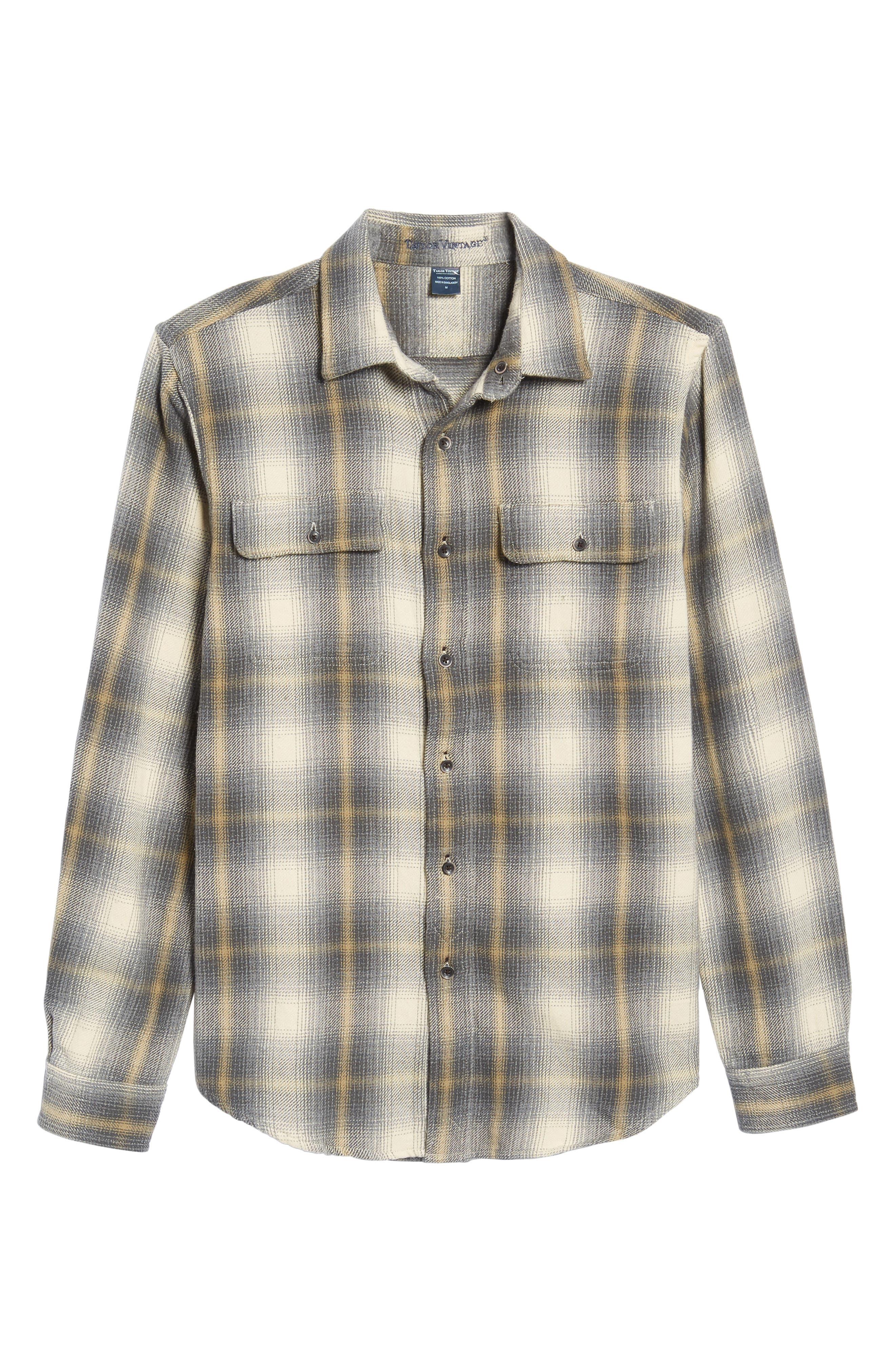 Heavy Twill Reversible Shirt Jacket,                             Alternate thumbnail 6, color,                             101