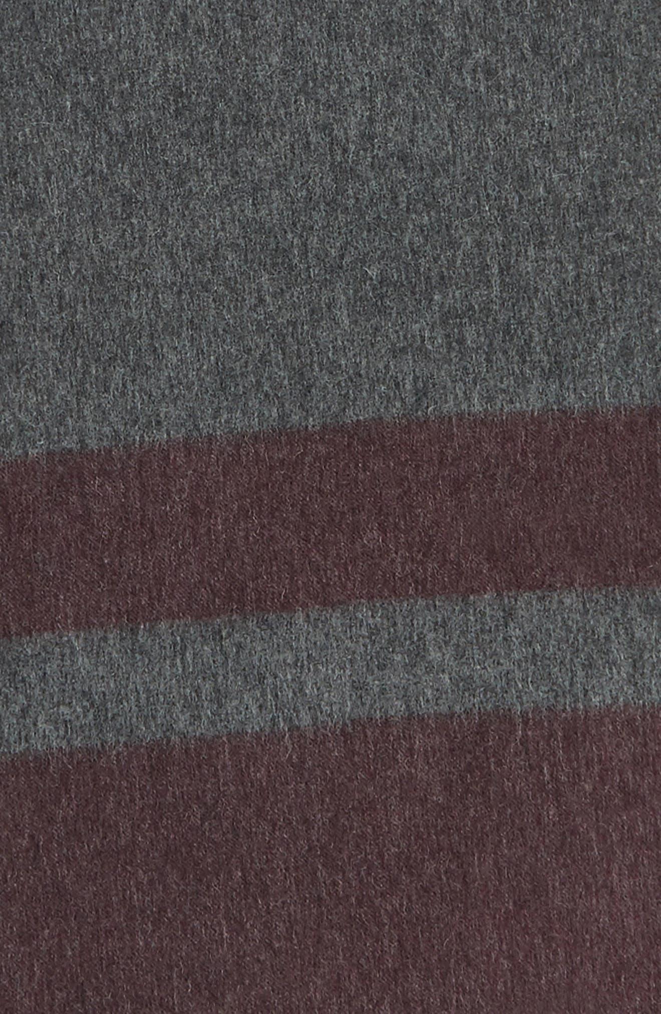 Lazio Stripe Wool Scarf,                             Alternate thumbnail 8, color,