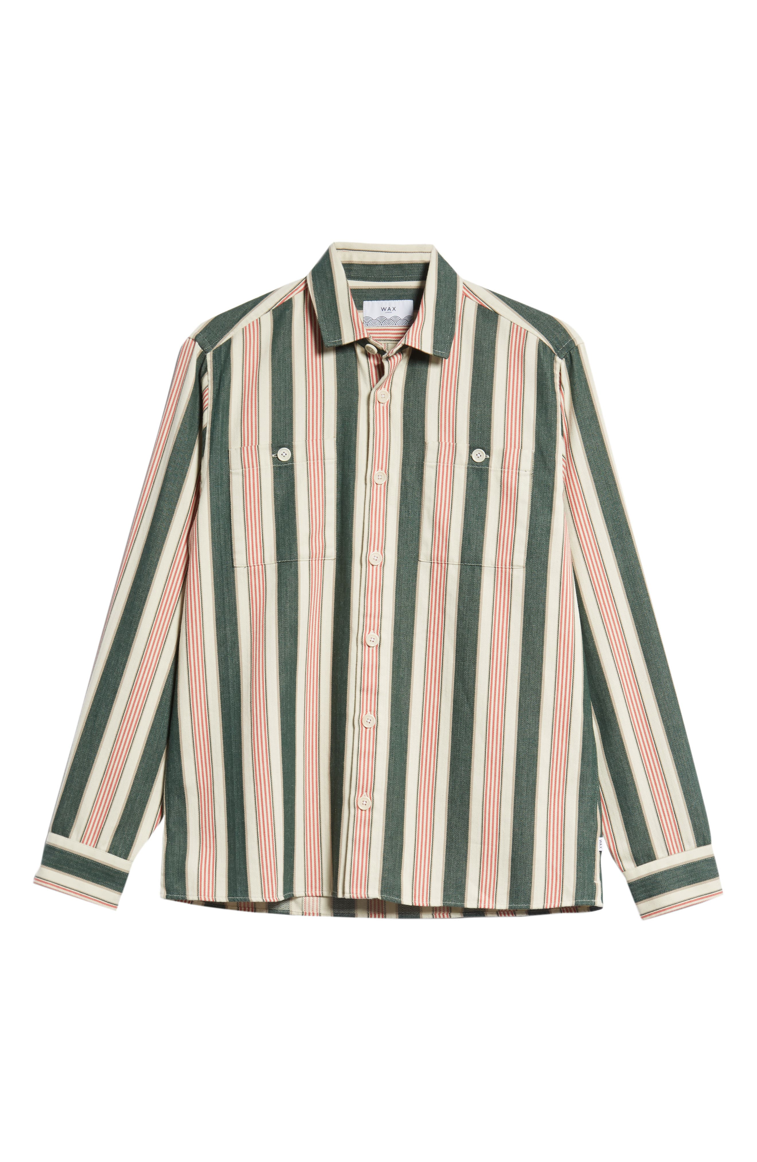 Whiting Woven Shirt,                             Alternate thumbnail 5, color,                             BEACH