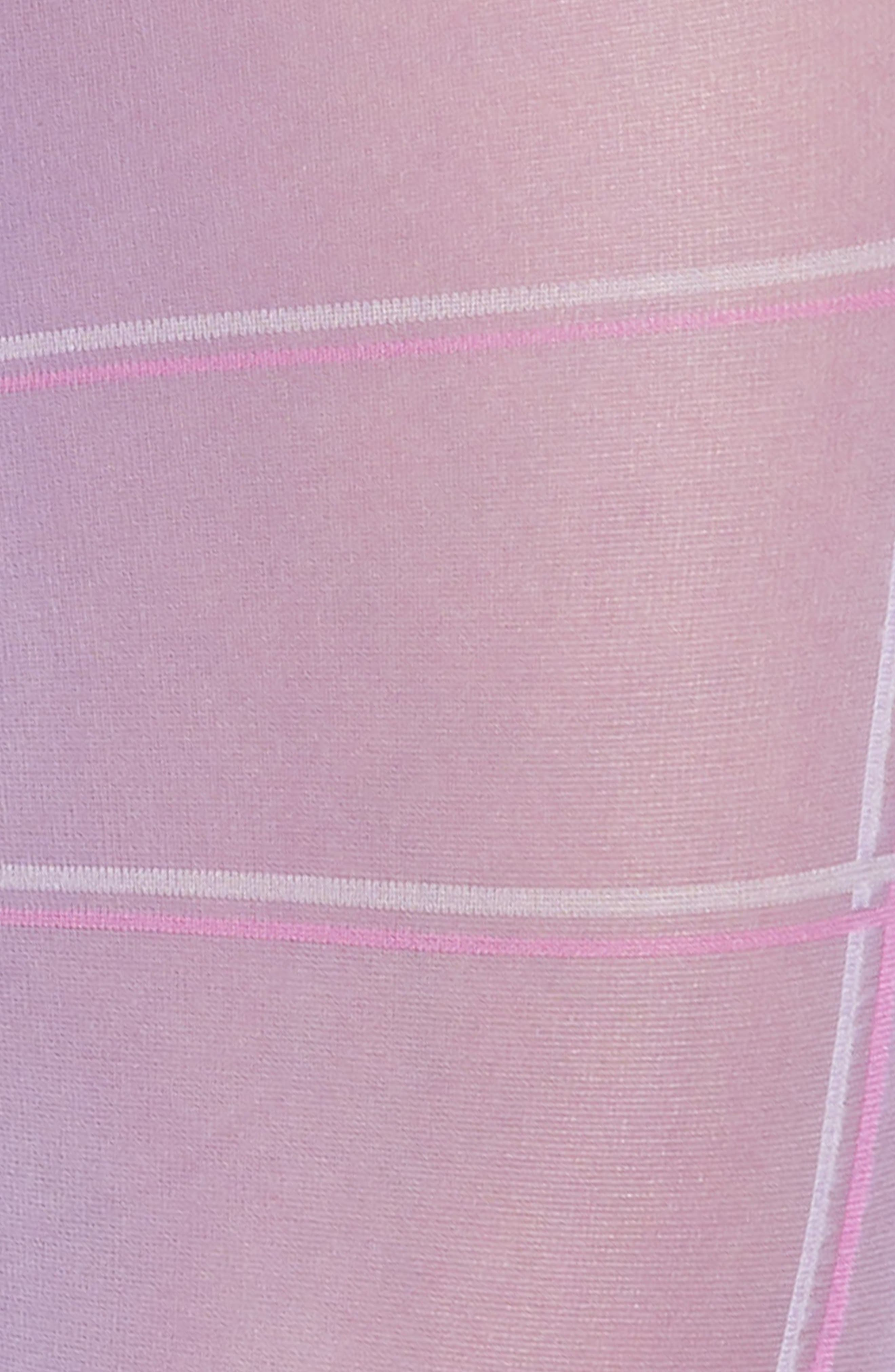 Sheer Plaid Tights,                             Alternate thumbnail 2, color,                             PLAID