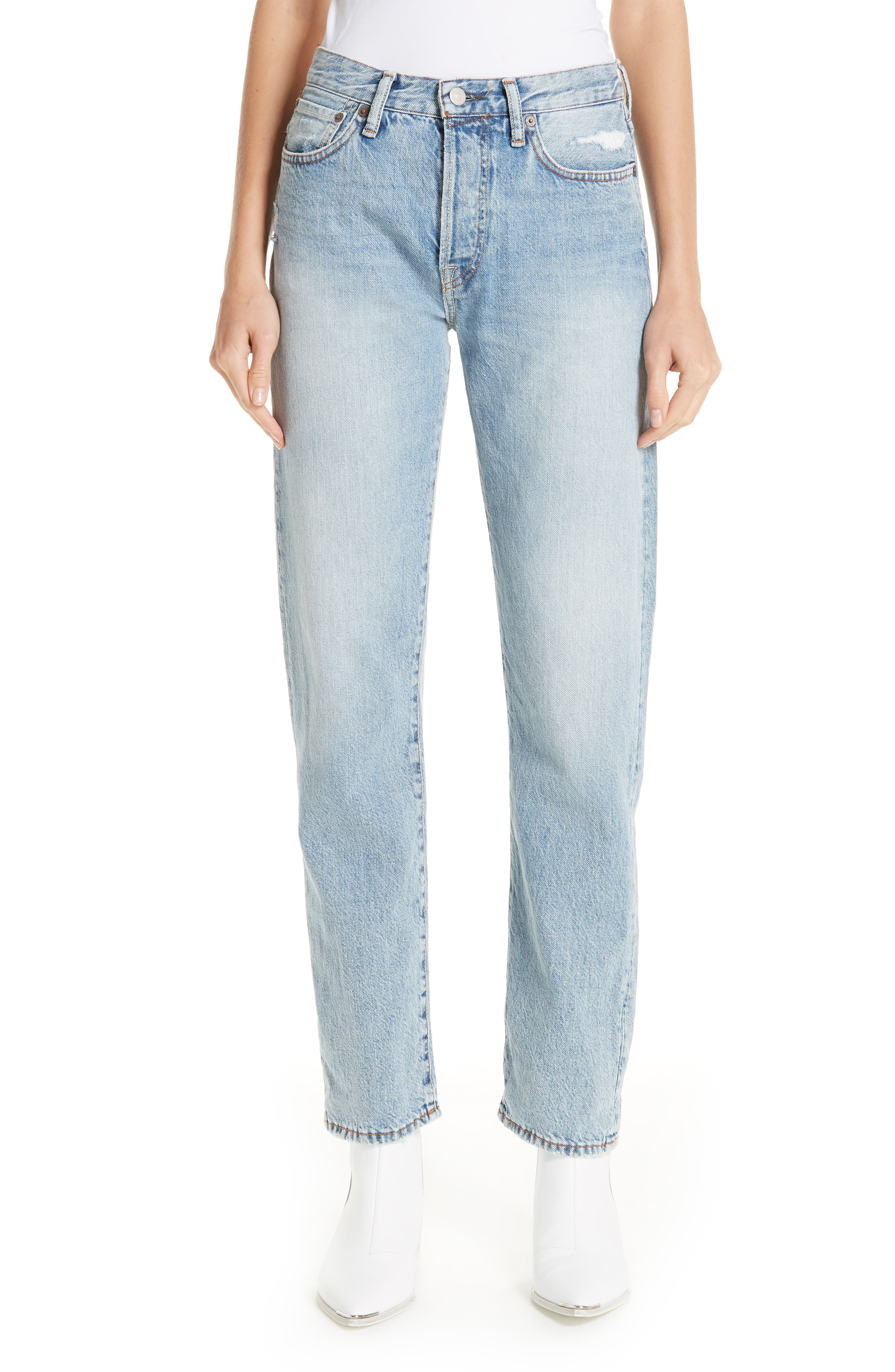 1997 Straight Leg Jeans, Main, color, LIGHT BLUE