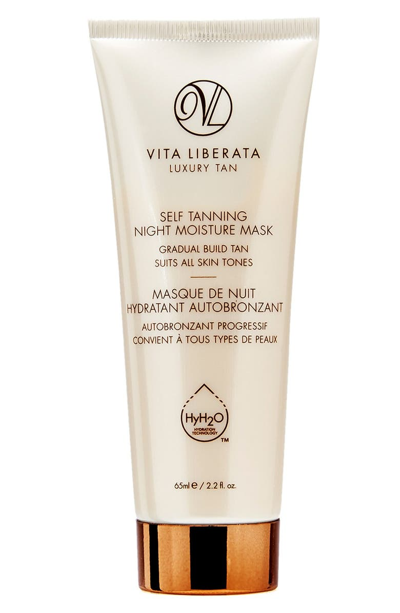 VITA LIBERATA Self Tanning Night Moisture Mask, Main, color, NO COLOR