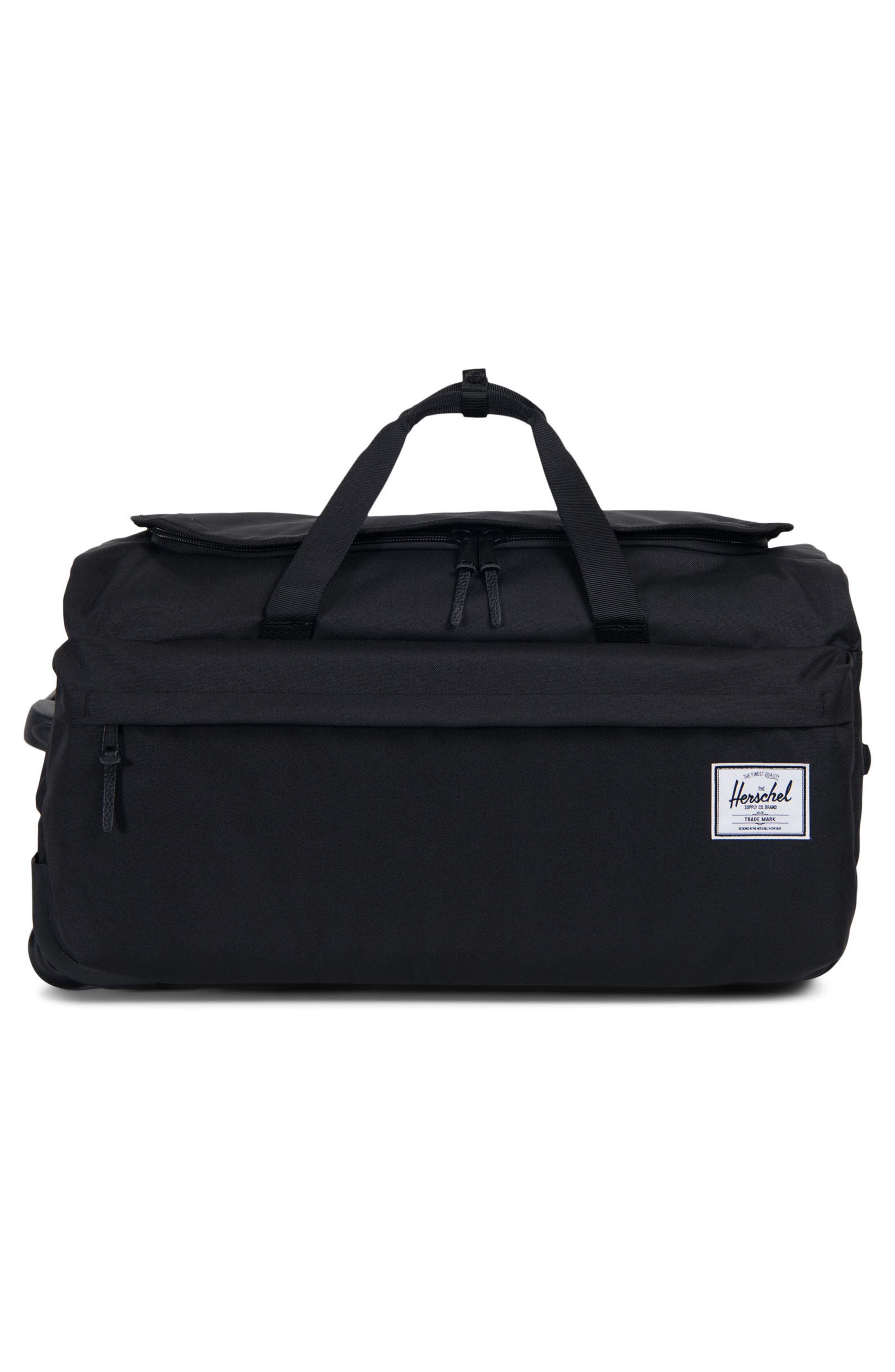 24-Inch Wheelie Rolling Carry-On,                             Alternate thumbnail 4, color,                             001