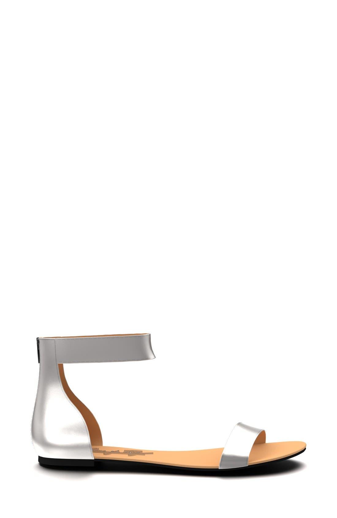 Ankle Strap Sandal,                             Alternate thumbnail 15, color,