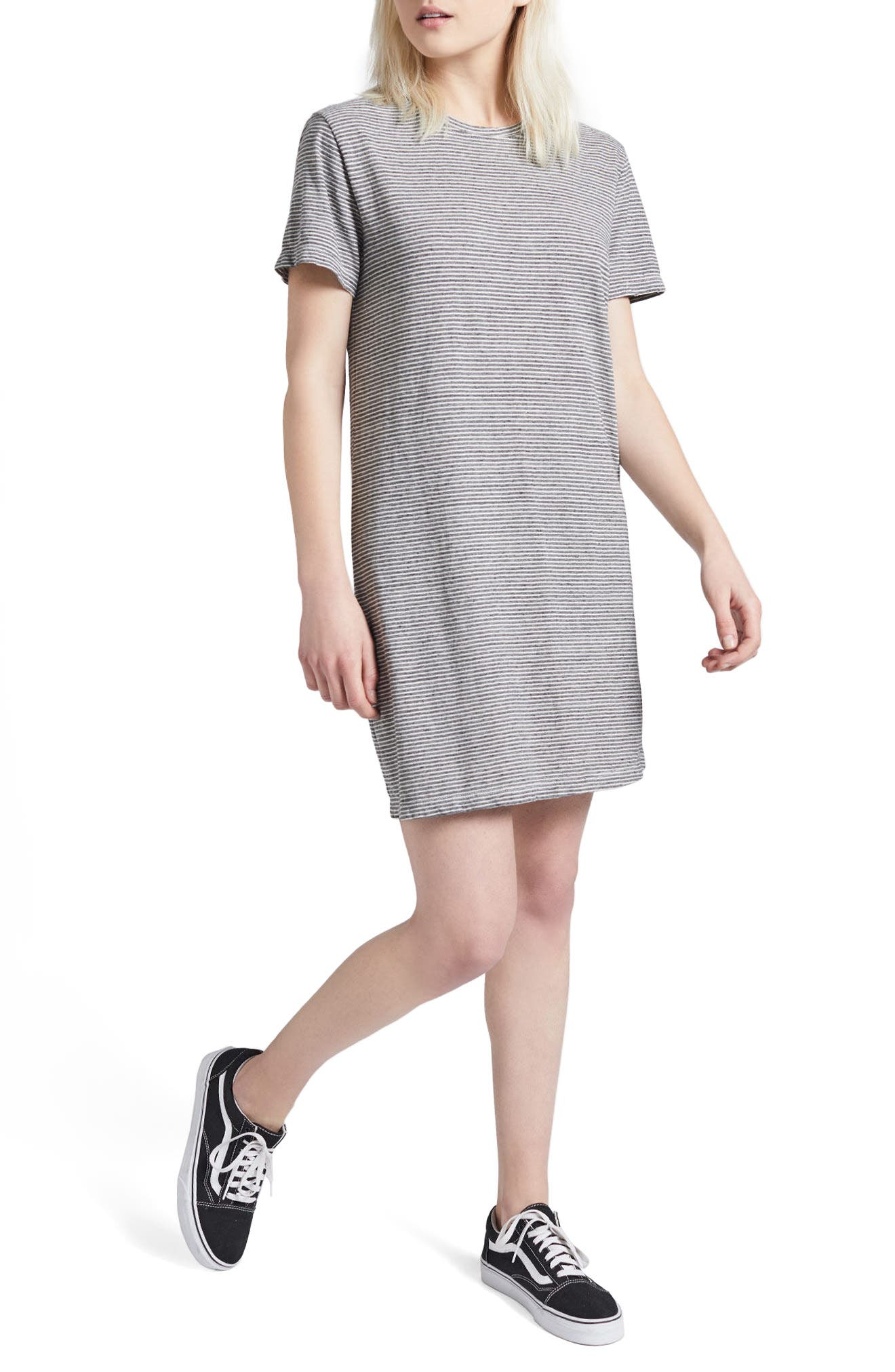The Beatnik T-Shirt Dress,                             Alternate thumbnail 3, color,                             020