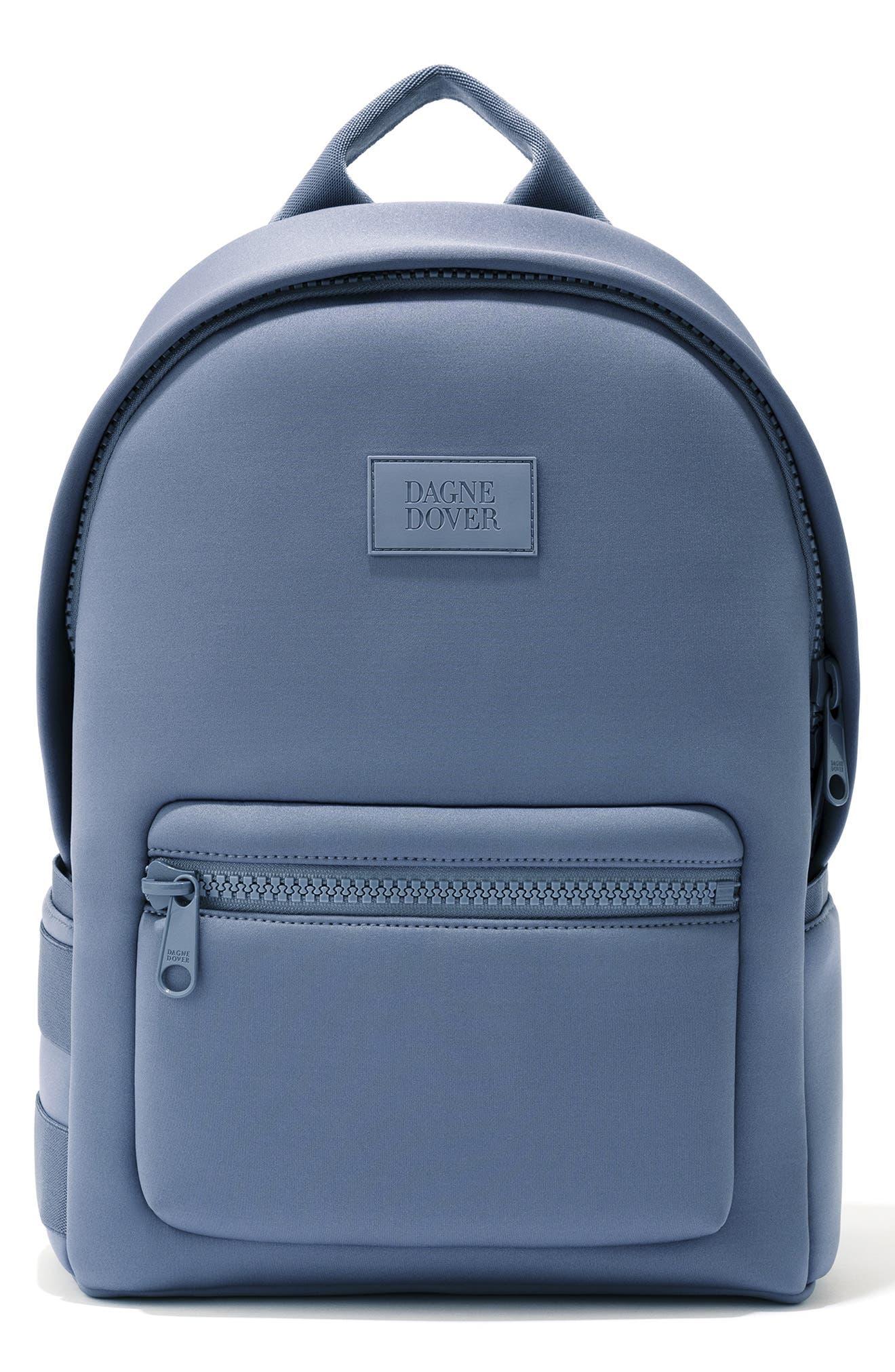 DAGNE DOVER 365 Dakota Neoprene Backpack - Blue in Ash Blue