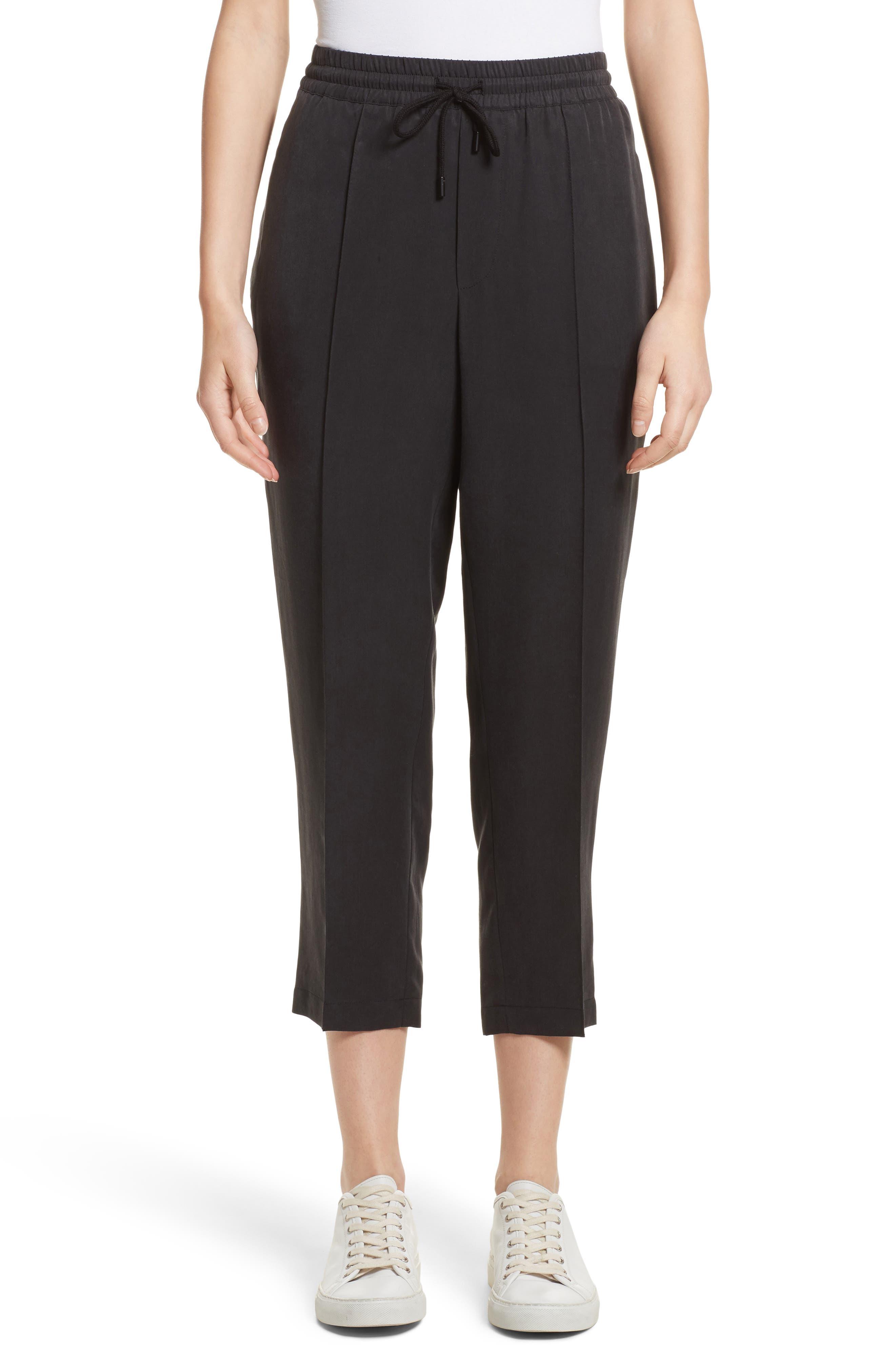 Crop Track Pants,                         Main,                         color, 001