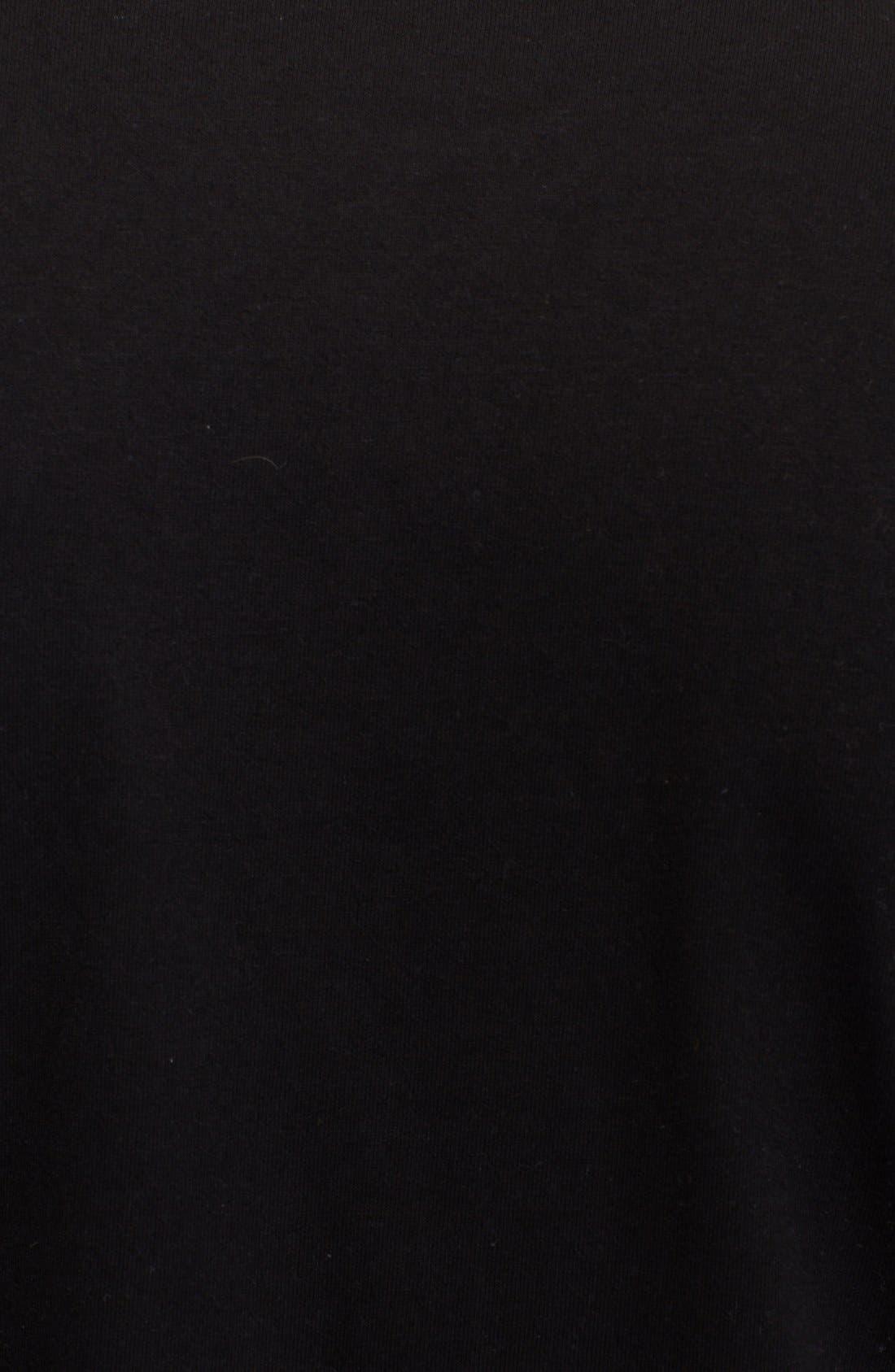 X-Ray Heart Logo T-Shirt,                             Alternate thumbnail 2, color,                             BLACK