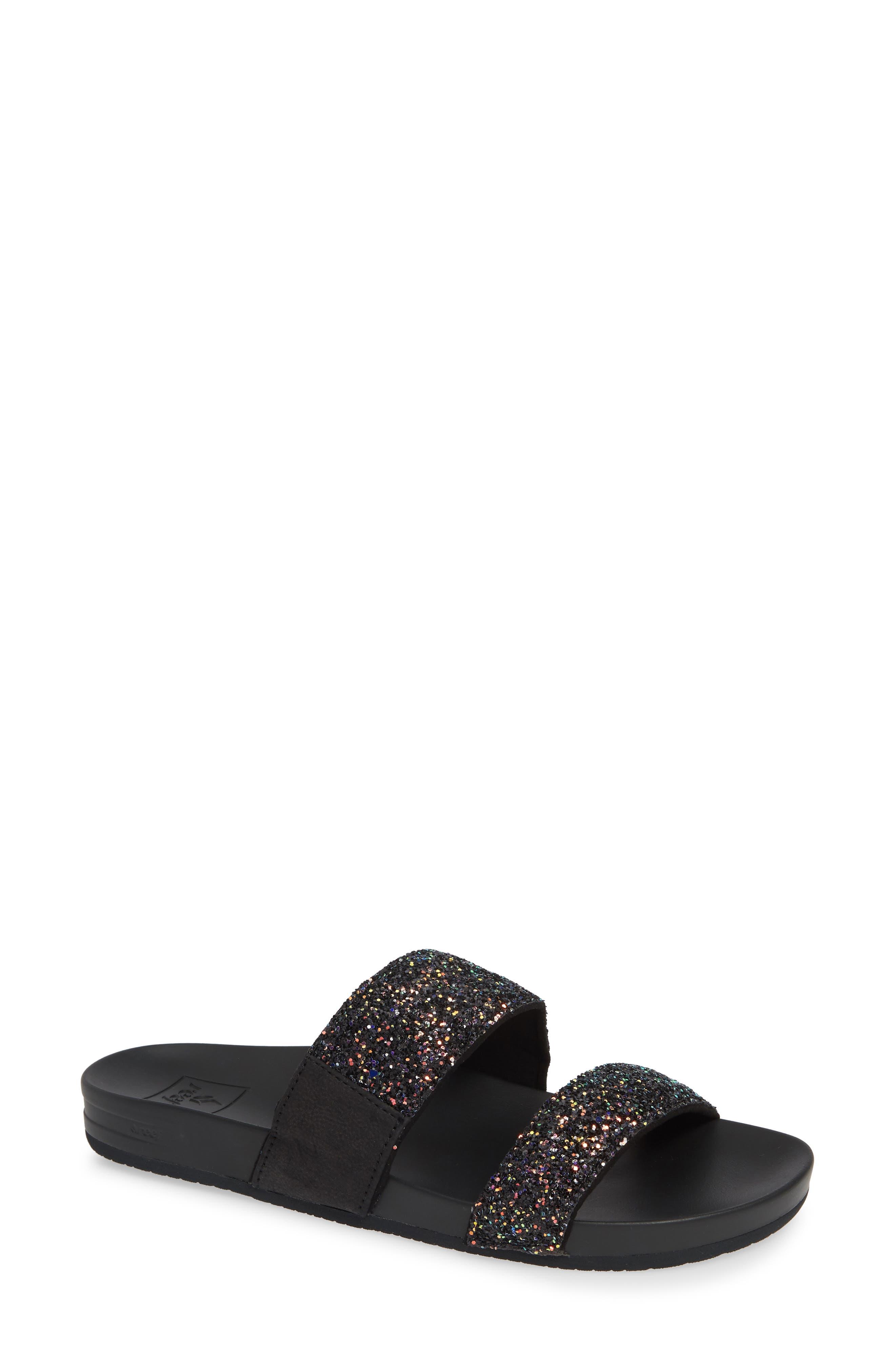 REEF Cushion Bounce Vista Slide Sandal, Main, color, POP ROCKS