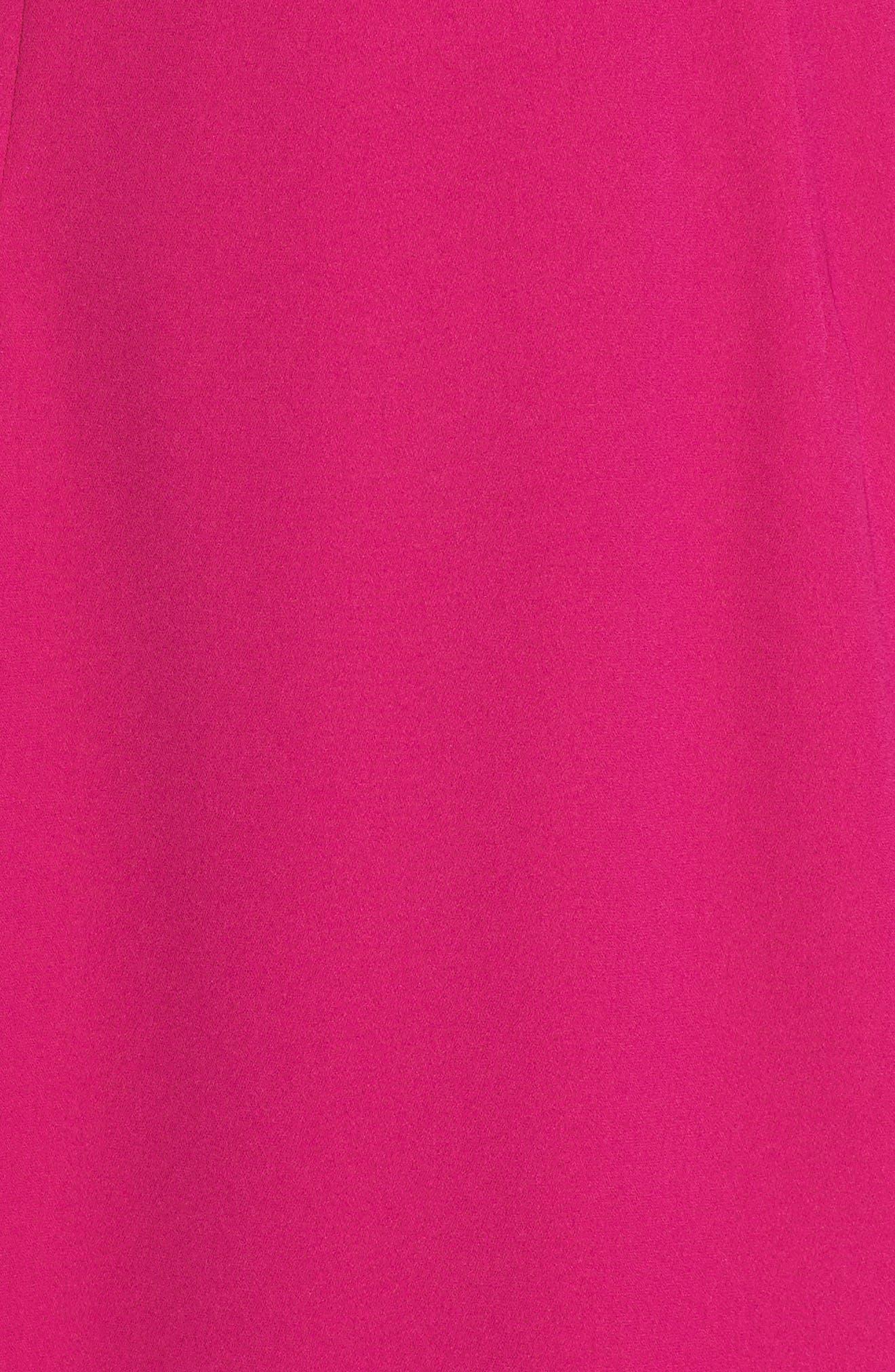 Lace Back Sheath Dress,                             Alternate thumbnail 12, color,