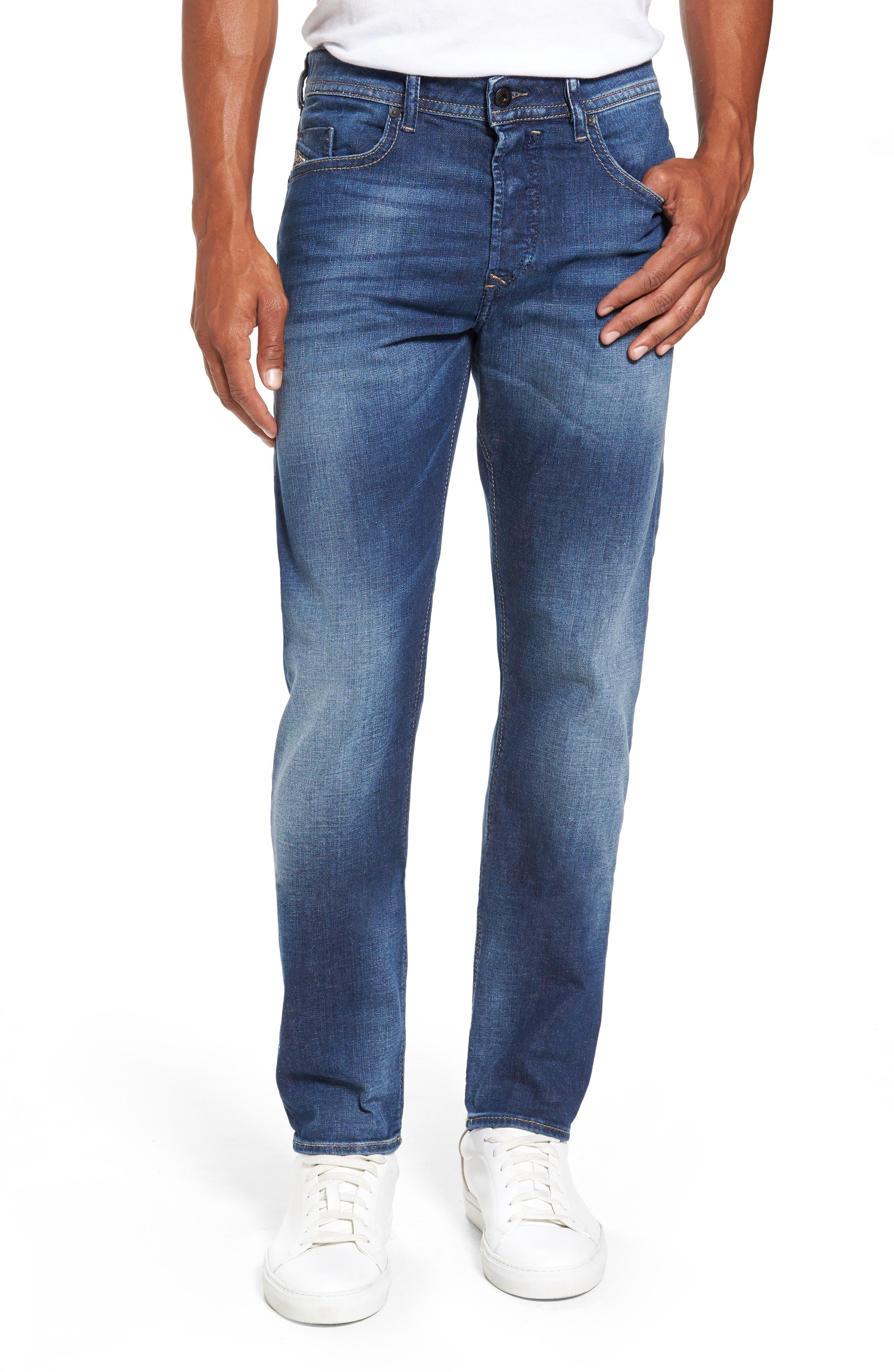 Buster Slim Straight Leg Jeans,                             Main thumbnail 1, color,                             400