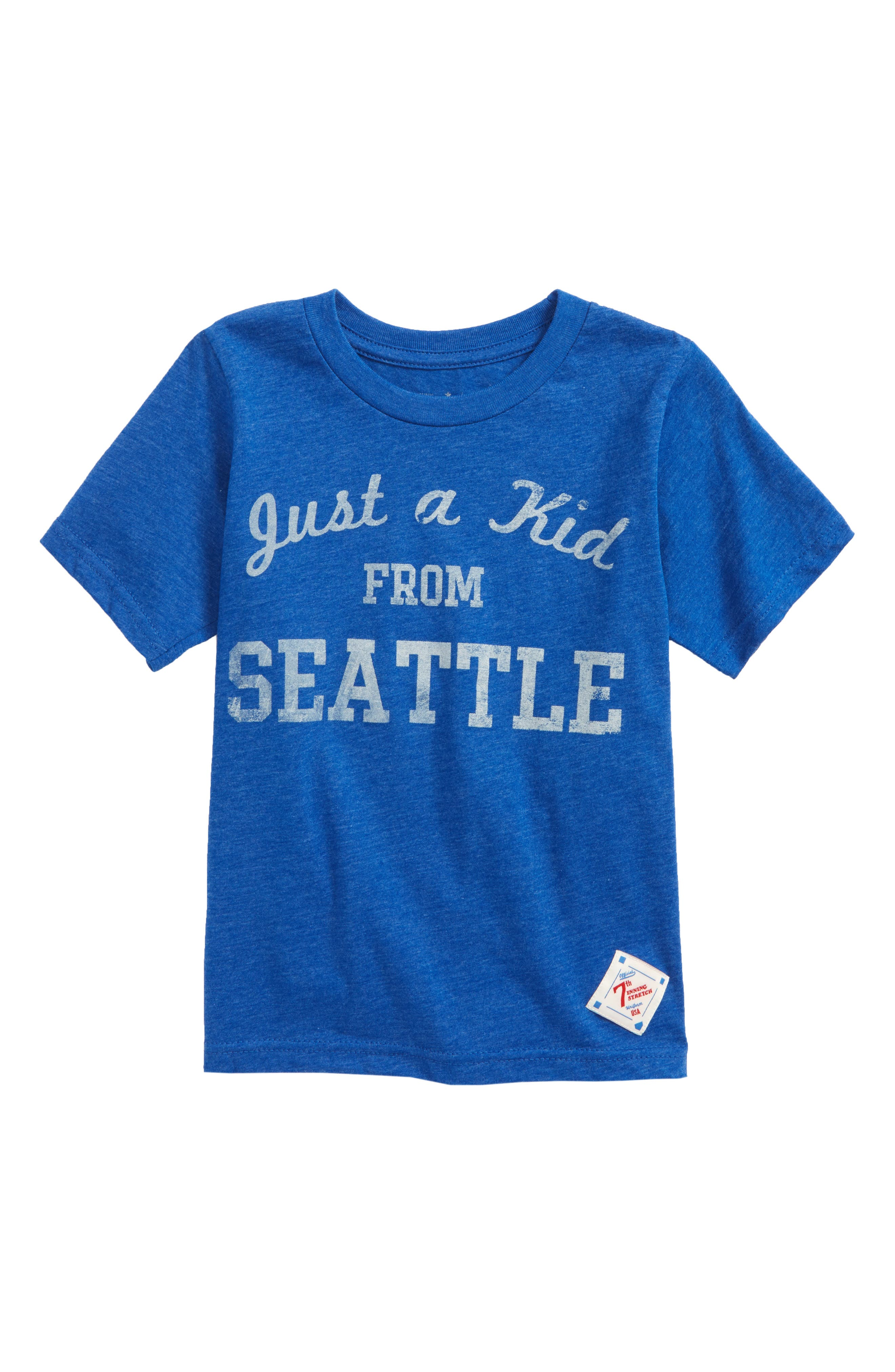 Just a Kid from Seattle Graphic T-Shirt,                             Main thumbnail 1, color,