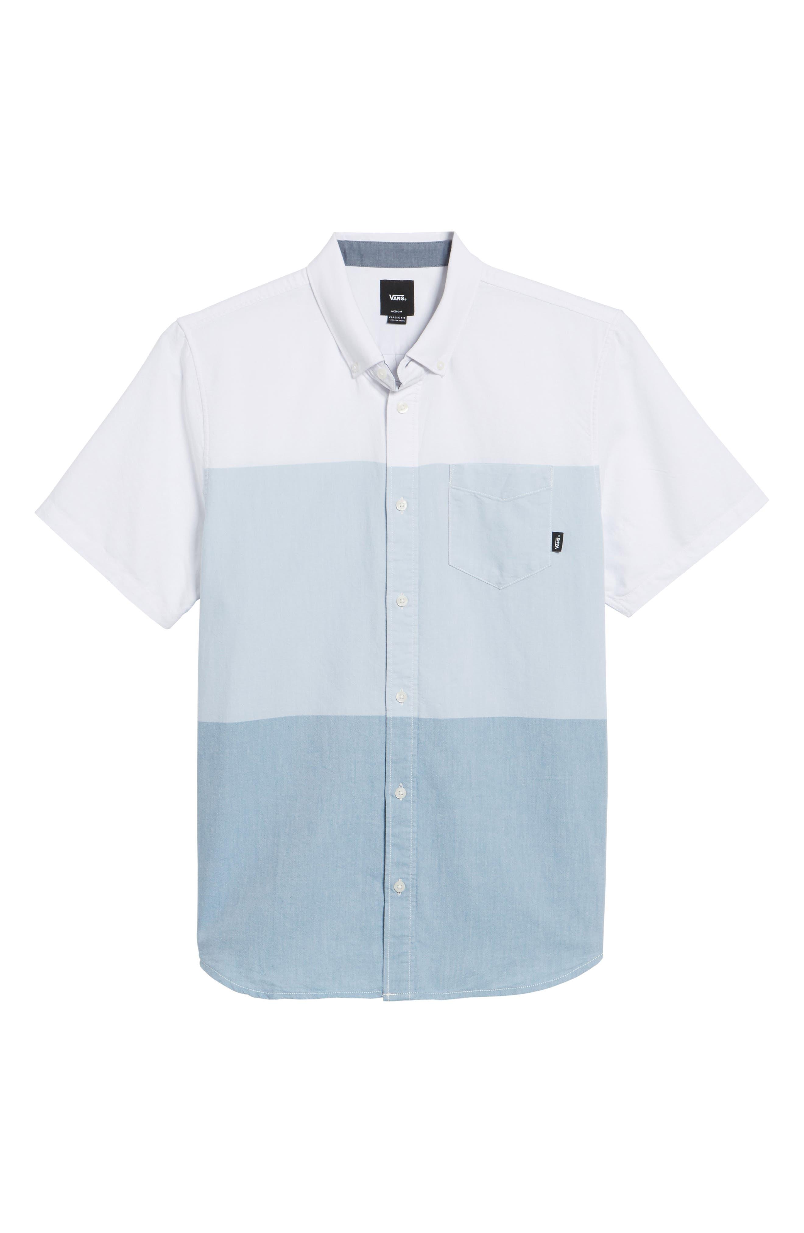 Houser Woven Shirt,                             Alternate thumbnail 6, color,                             100