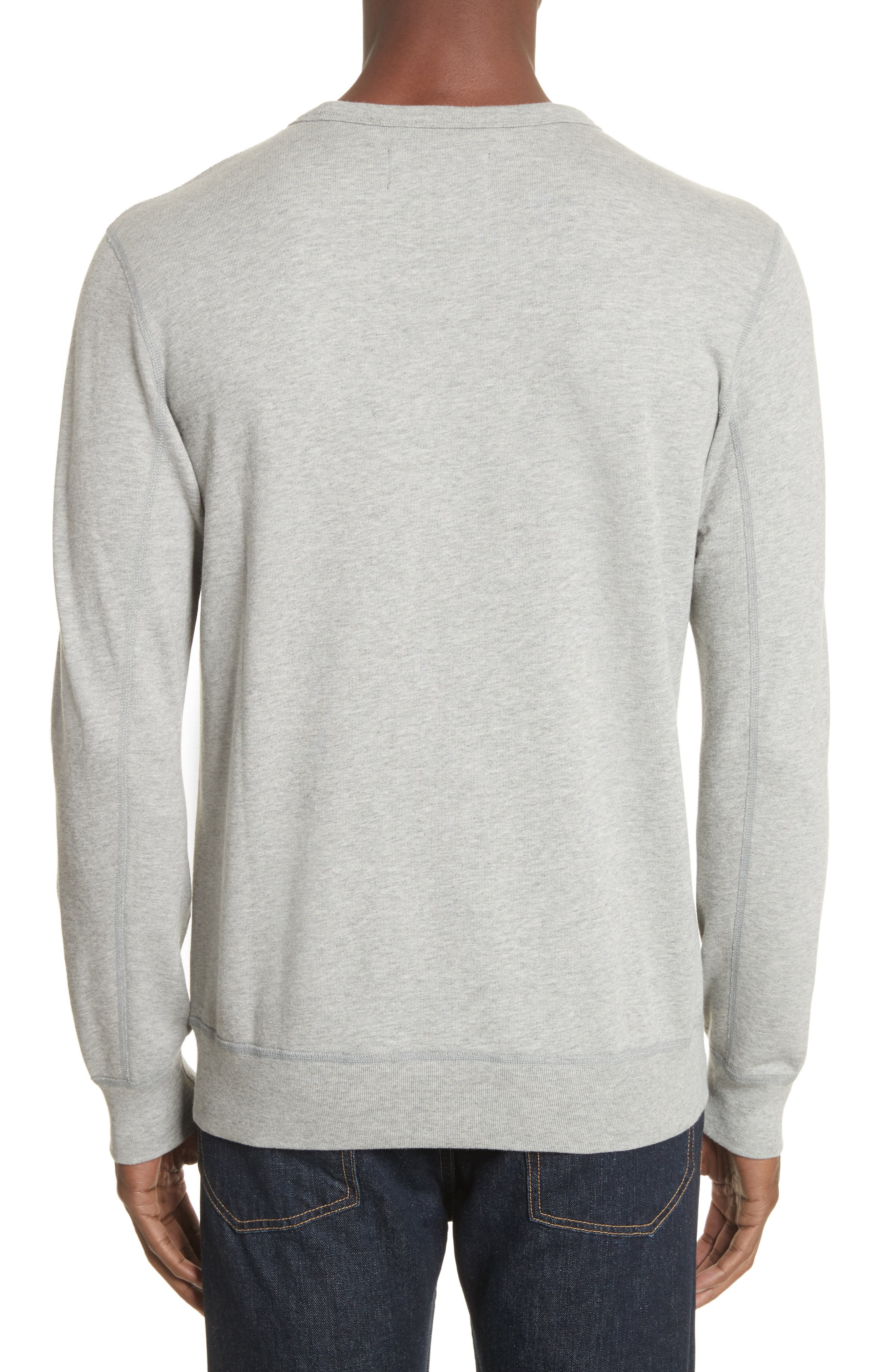 Crewneck Sweatshirt,                             Alternate thumbnail 2, color,                             060