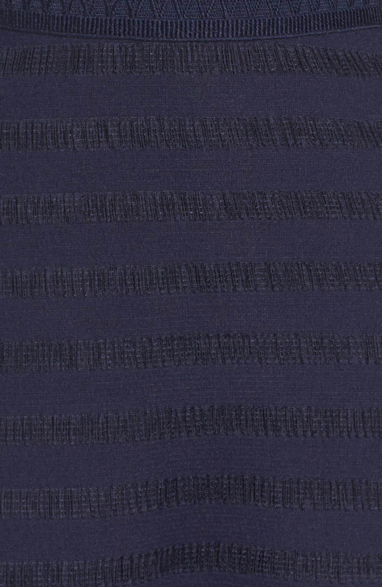 Elsie Ruffle Sleeve Fit & Flare Dress,                             Alternate thumbnail 5, color,                             414