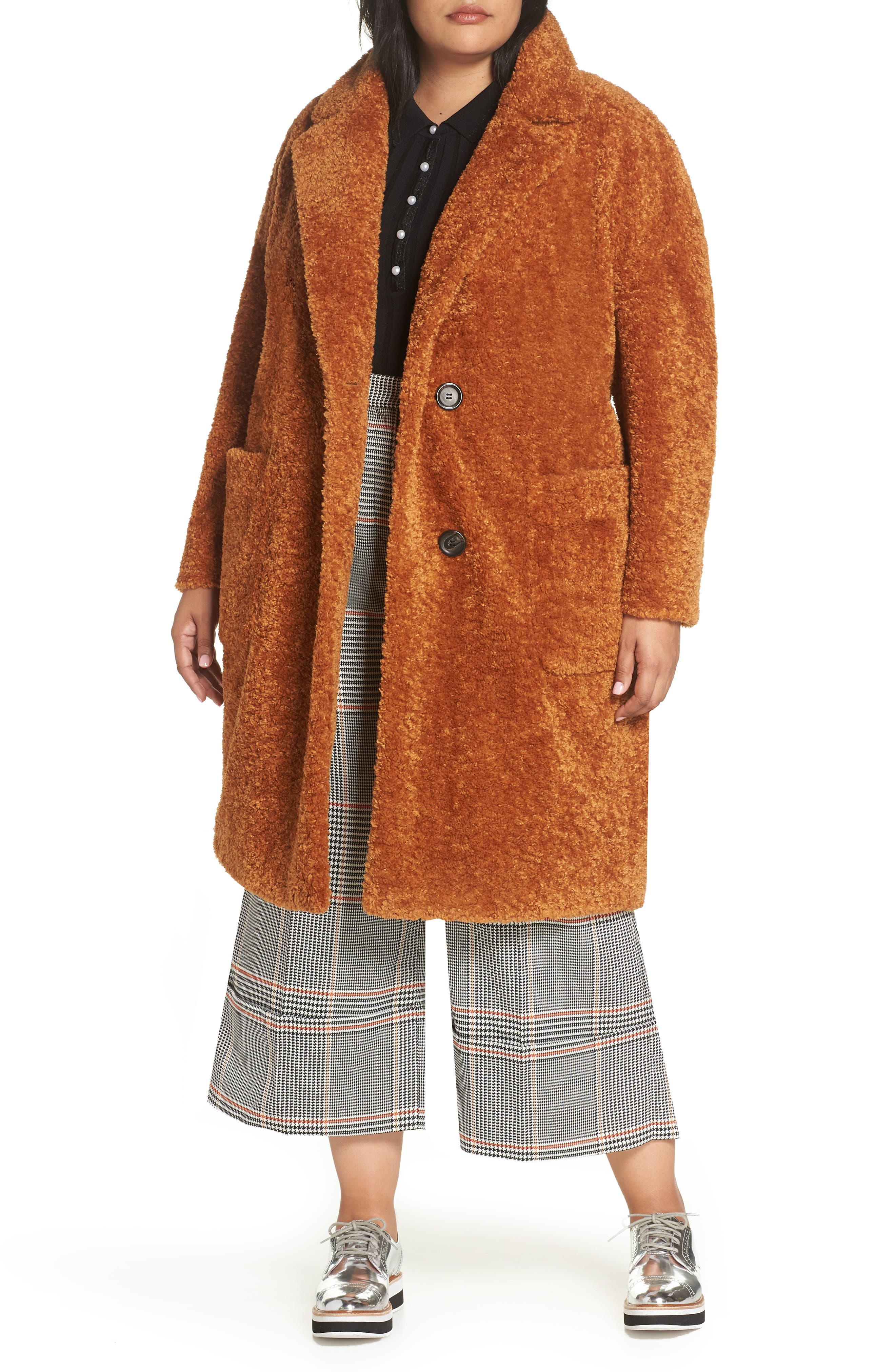 x Atlantic-Pacific Faux Fur Coat,                         Main,                         color, 219