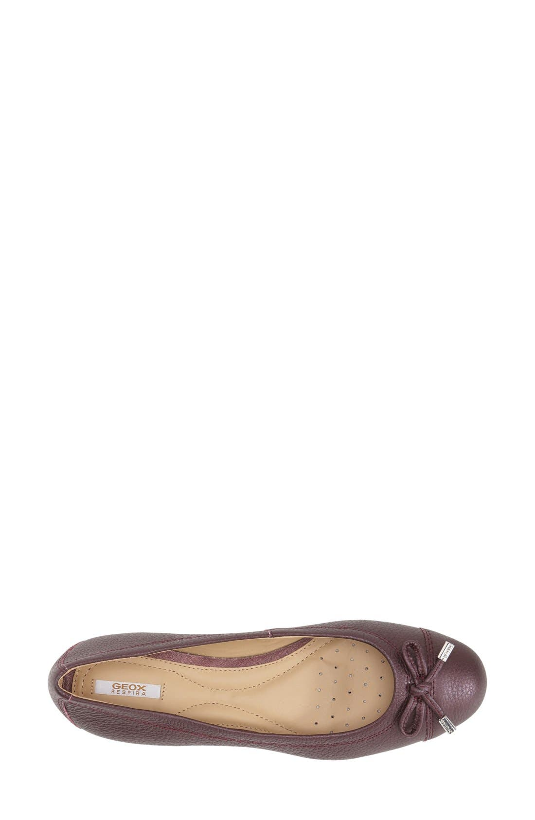 'Lola 16' Cap Toe Ballet Flat,                             Alternate thumbnail 12, color,