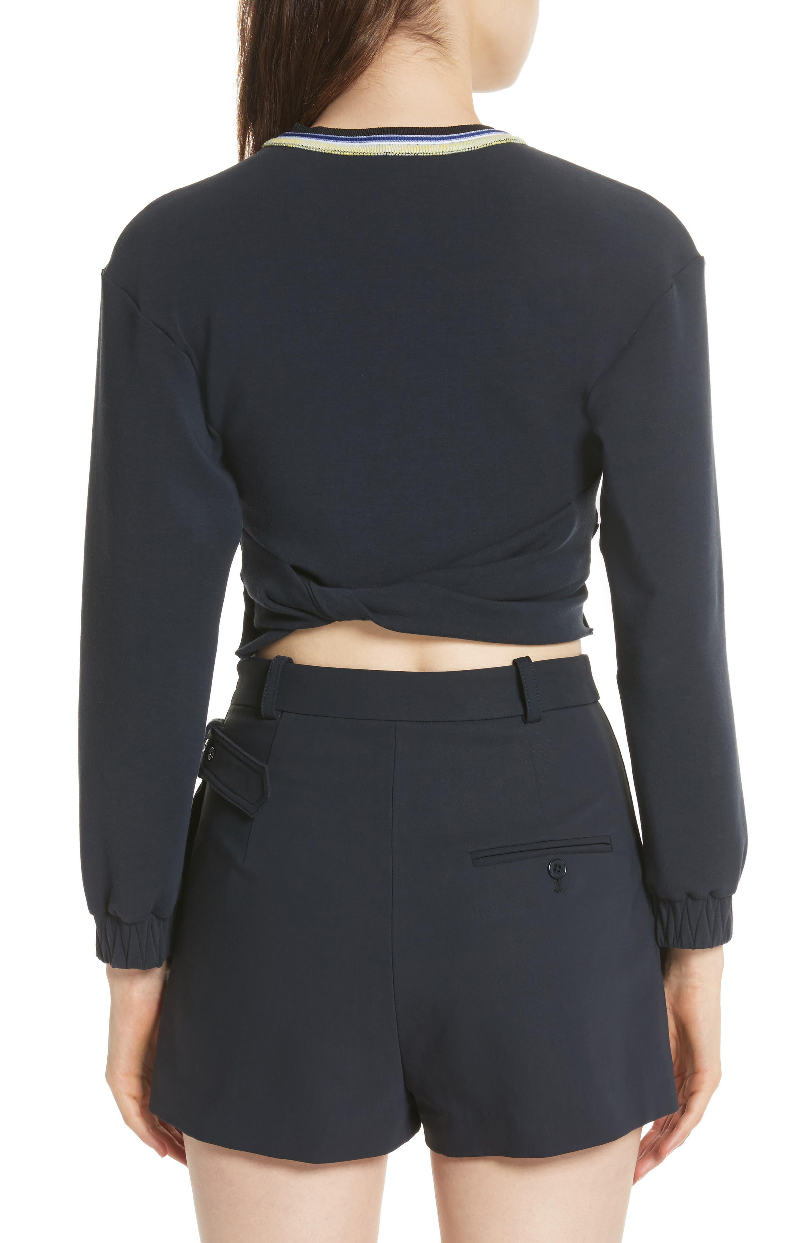Twisted Crop Top,                             Alternate thumbnail 2, color,                             401