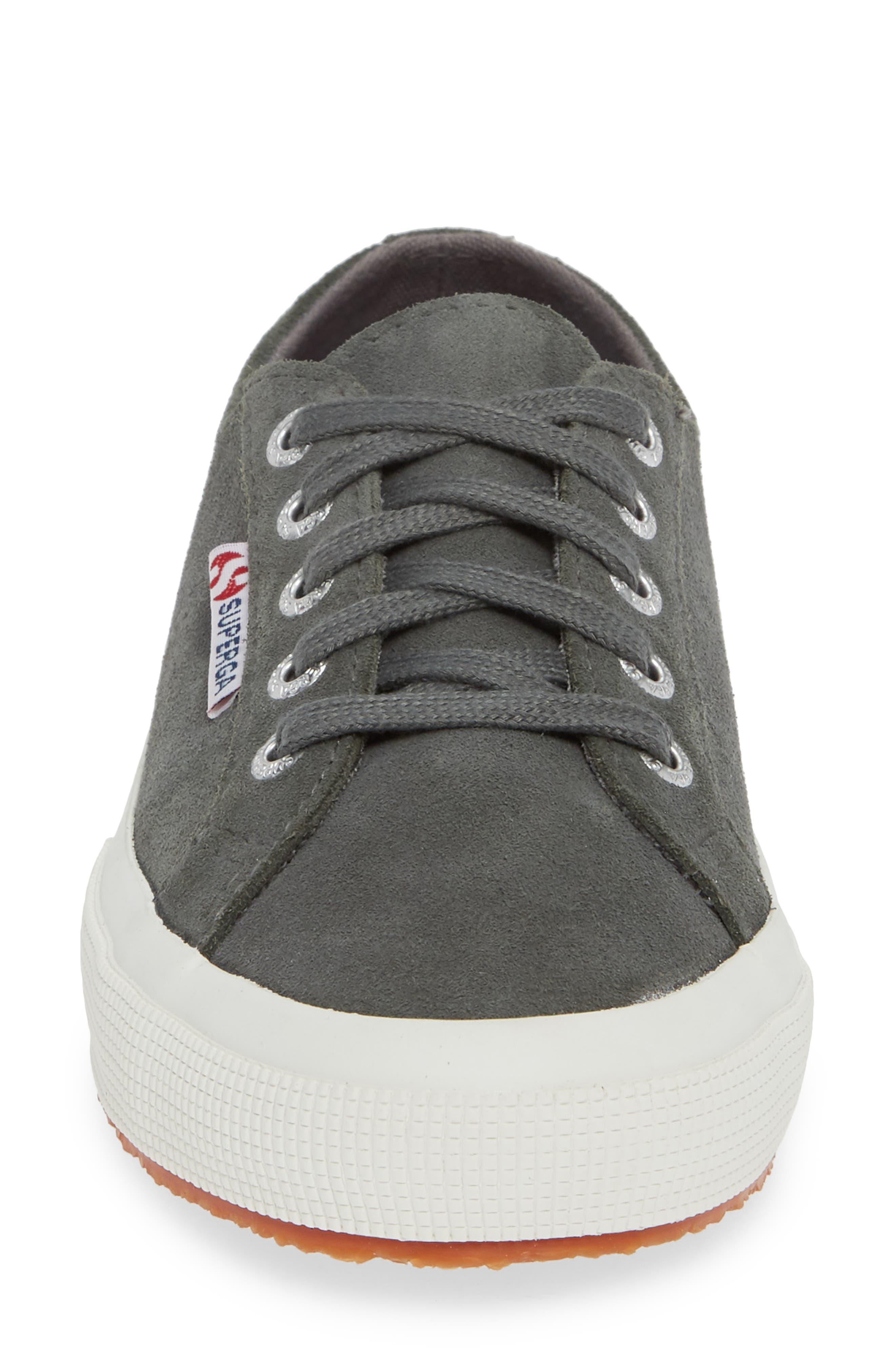 2750 Suecotw Low Top Sneaker,                             Alternate thumbnail 4, color,                             DARK GREY SUEDE