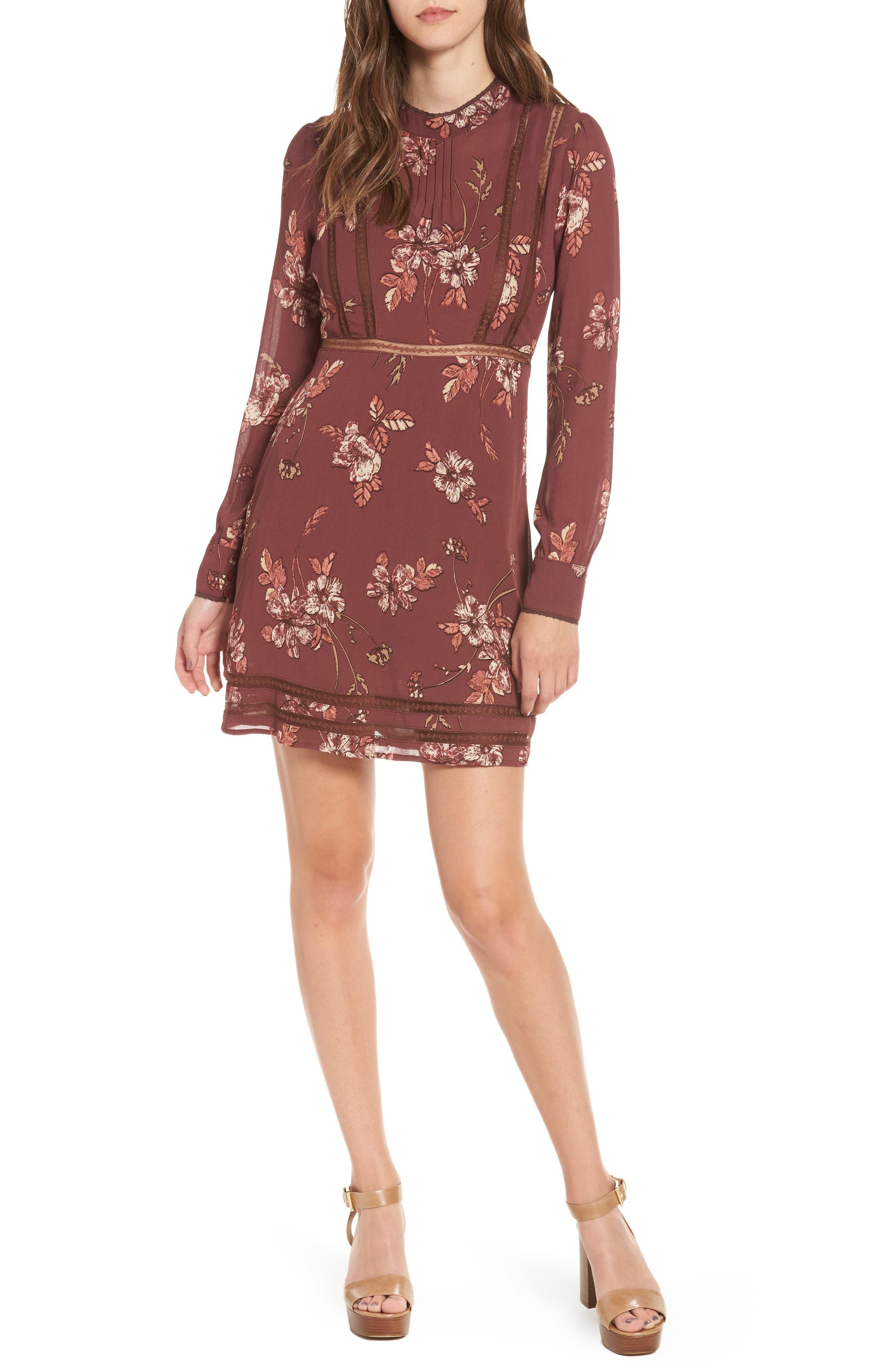 Kirsten A-Line Dress,                             Main thumbnail 3, color,