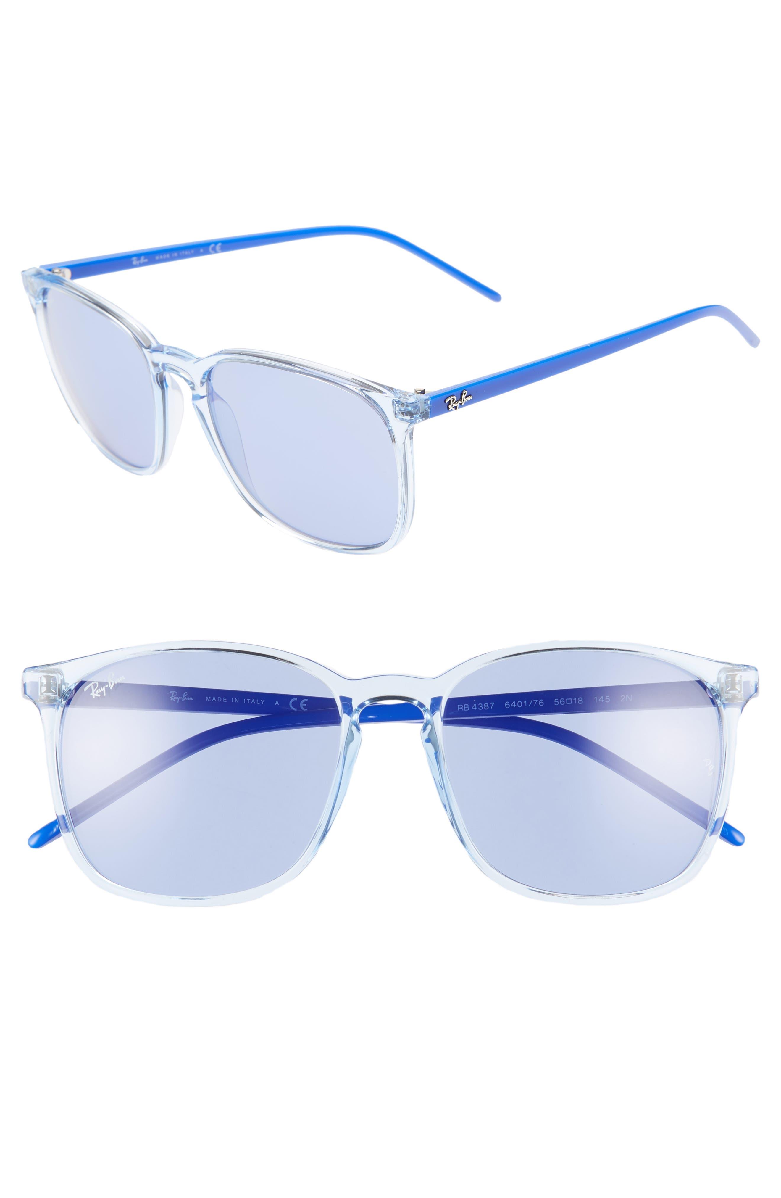 Ray-Ban 5m Sunglasses - Light Blue/ Blue Solid