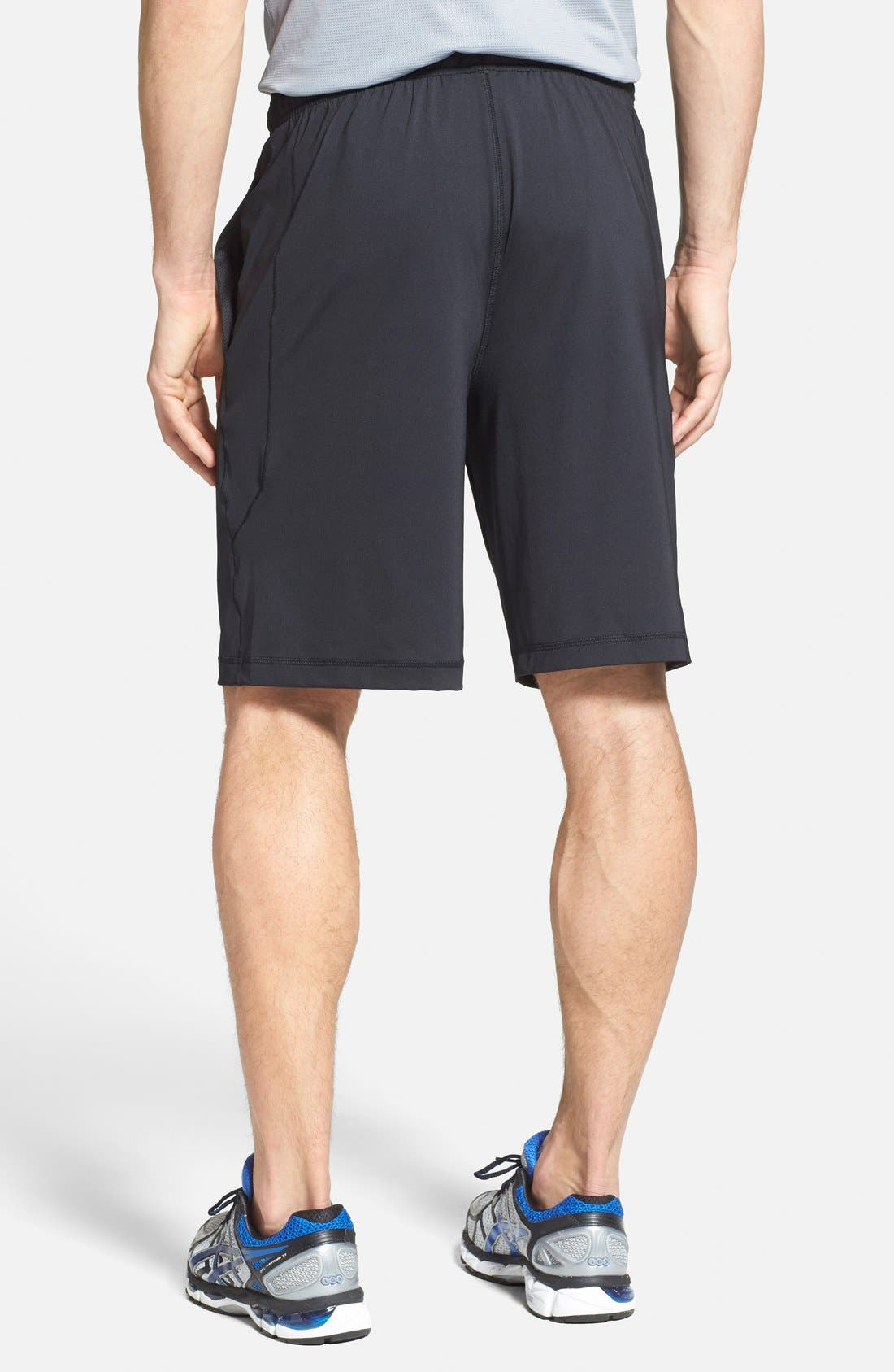 'Raid' HeatGear<sup>®</sup> Loose-Fit Athletic Shorts,                             Alternate thumbnail 2, color,                             001