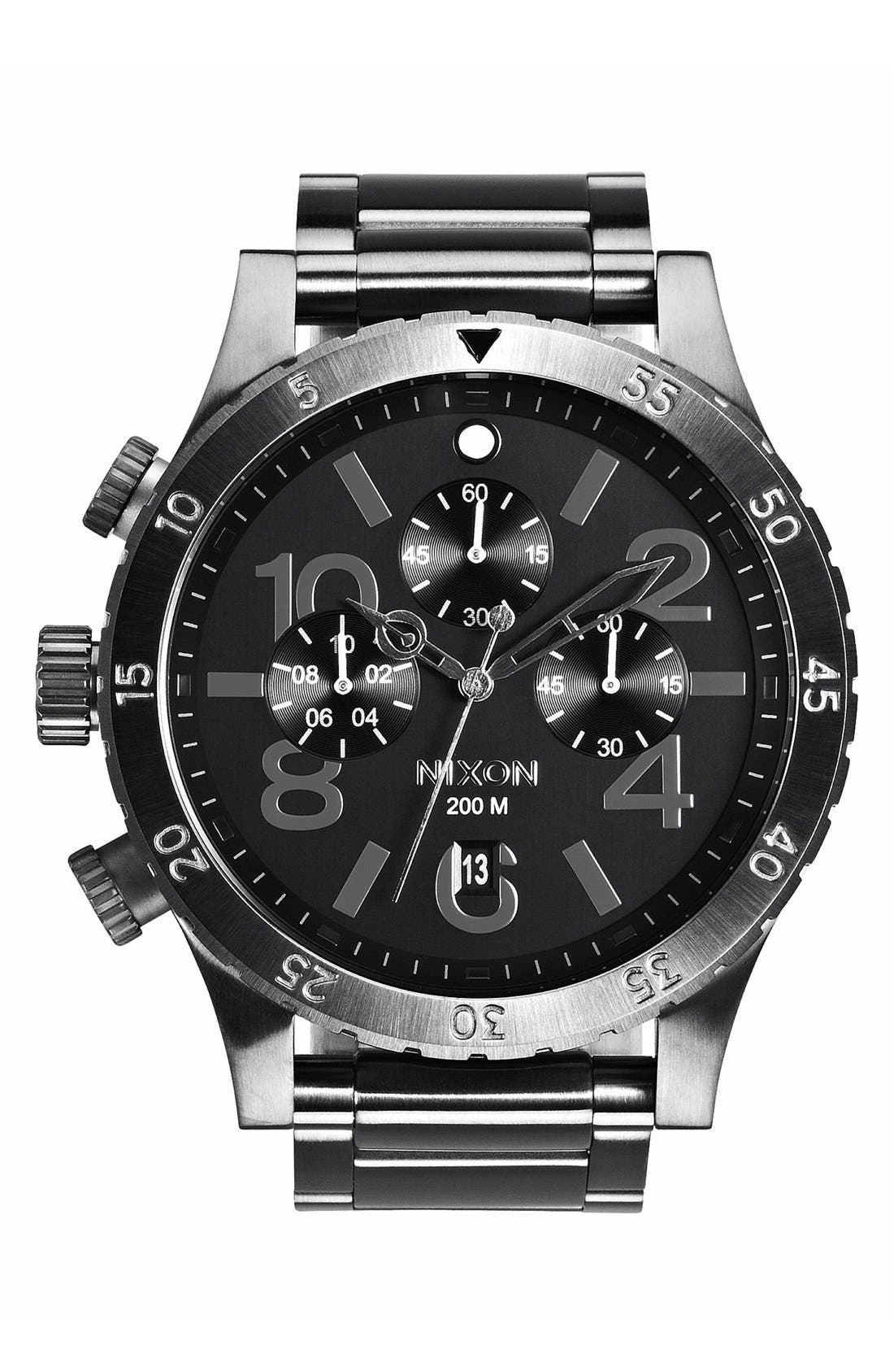 'The 48-20' Chronograph Watch, 48mm,                             Main thumbnail 4, color,